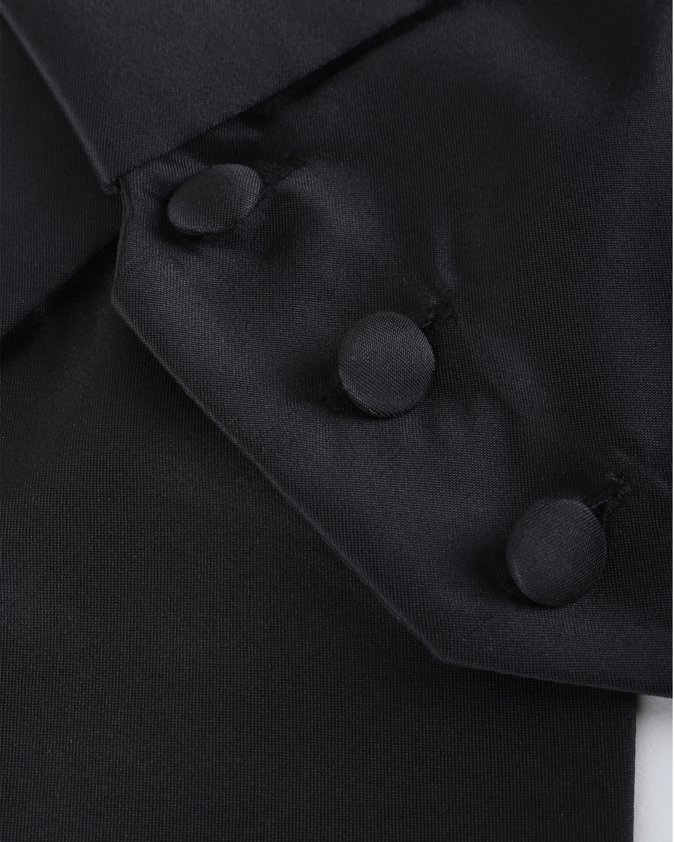 Tailcoat Waistcoat Black photo 1