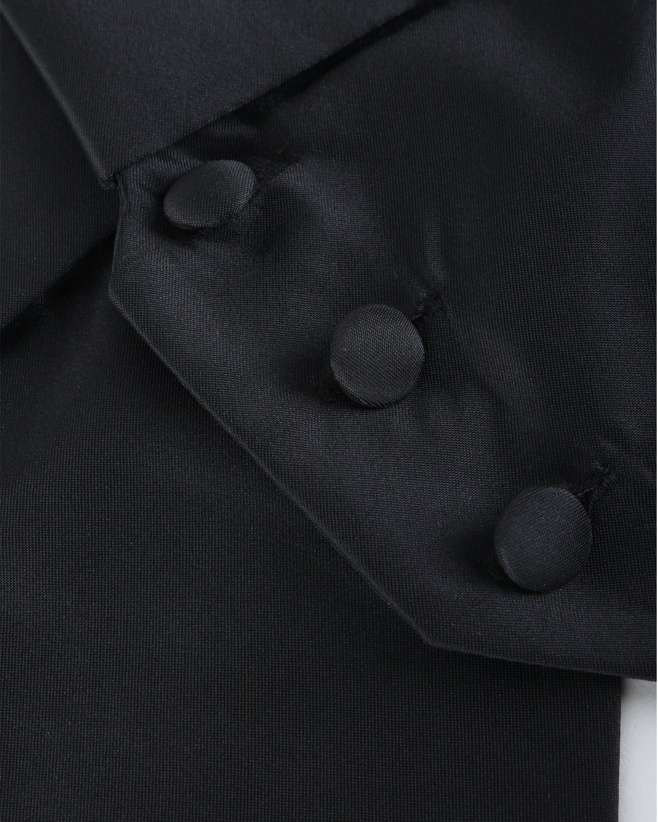 Tailcoat Waistcoat Black