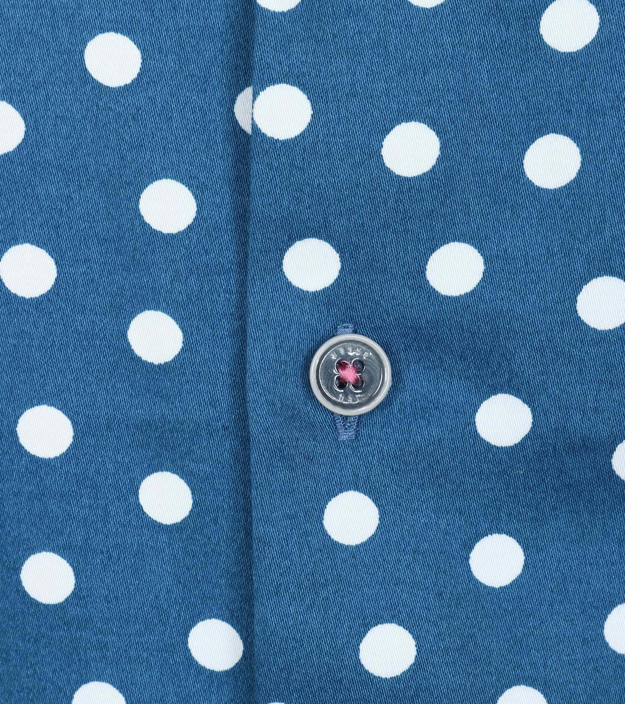 Ted Baker Overhemd Blauw Punten foto 1