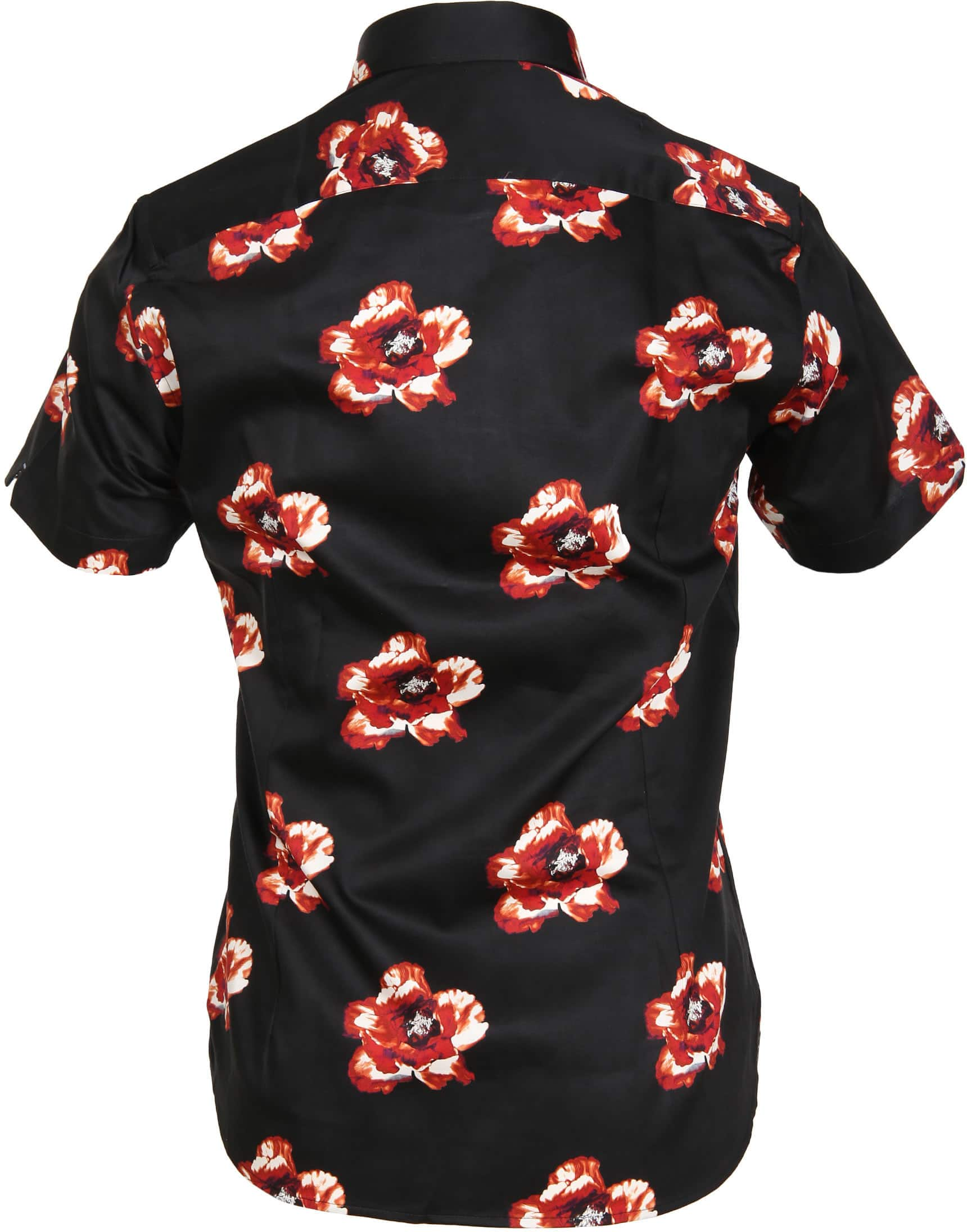 Ted Baker Overhemd Bloem Zwart foto 2