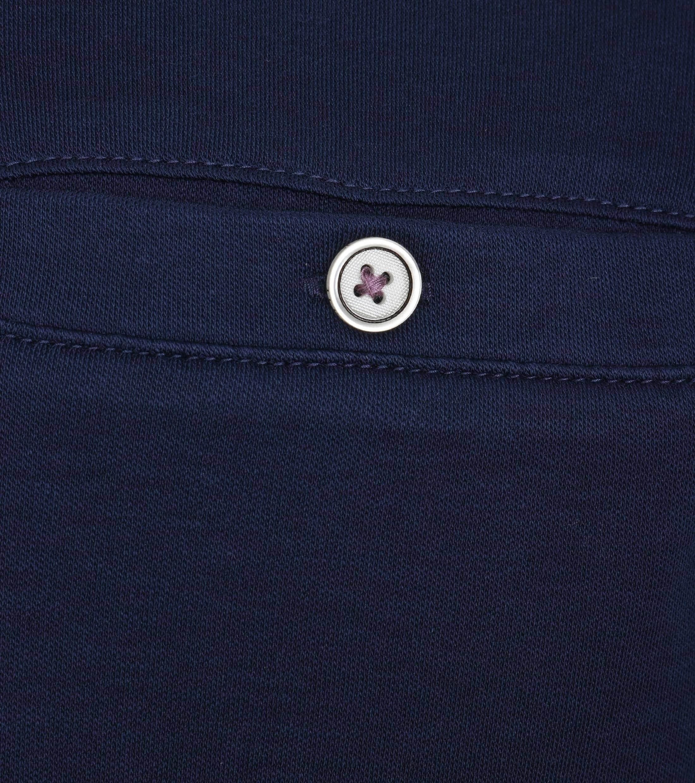 Ted Baker Poloshirt Katoen Navy foto 1