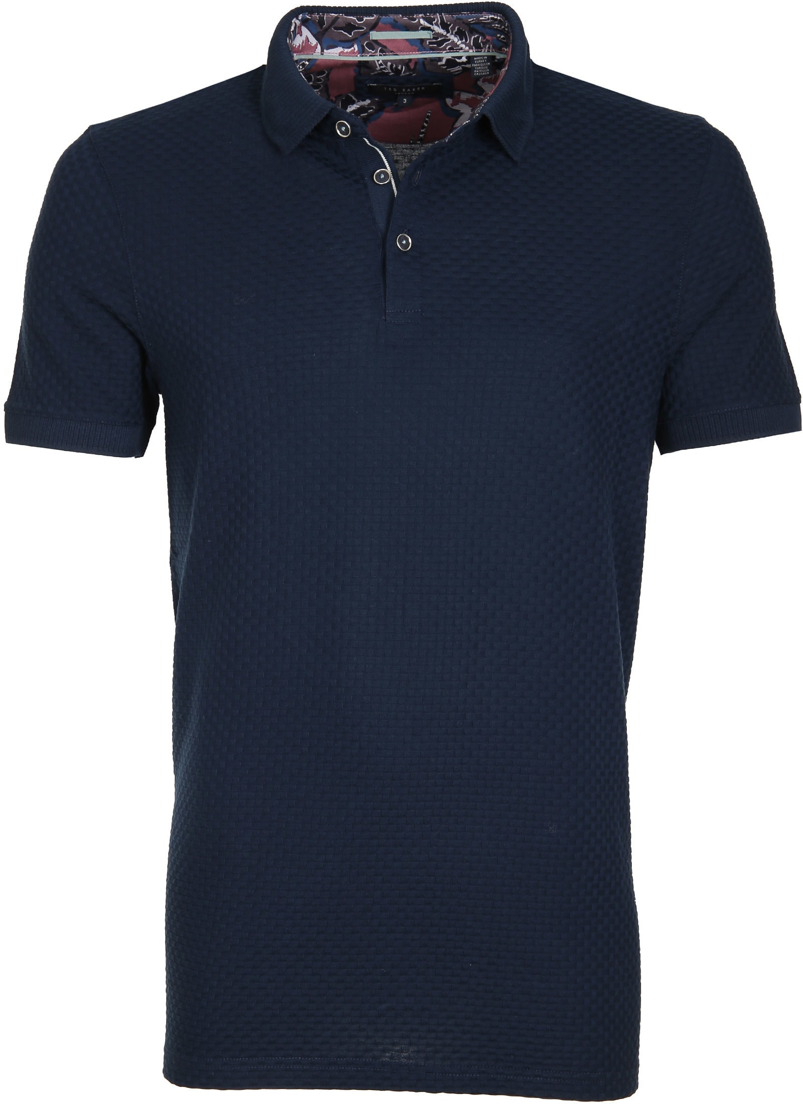 Ted Baker Poloshirt Knit Navy foto 0
