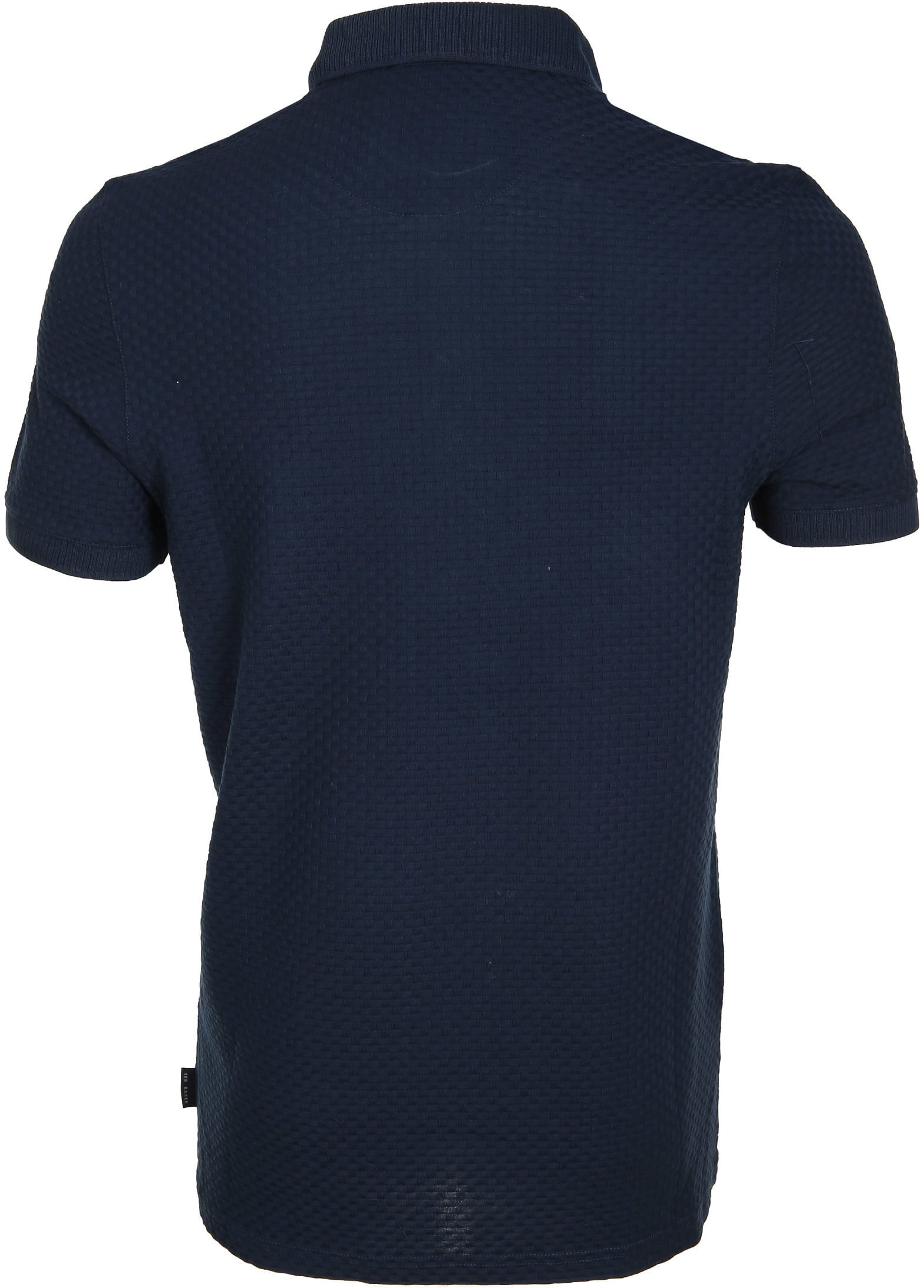 Ted Baker Poloshirt Knit Navy foto 2