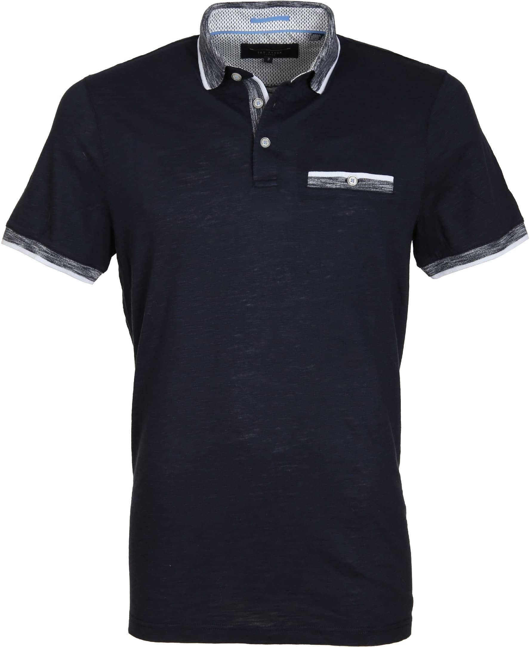 Ted Baker Poloshirt Space Navy foto 0