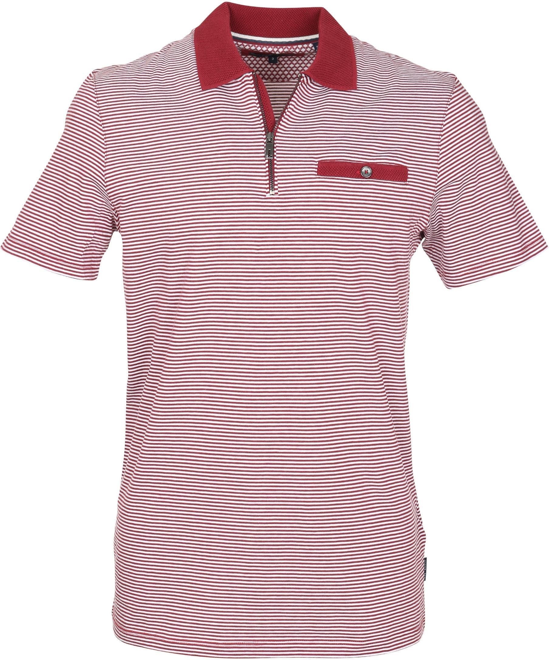 7a98ef604eea0 Ted Baker Poloshirt Stripes Red 143617-40 order online