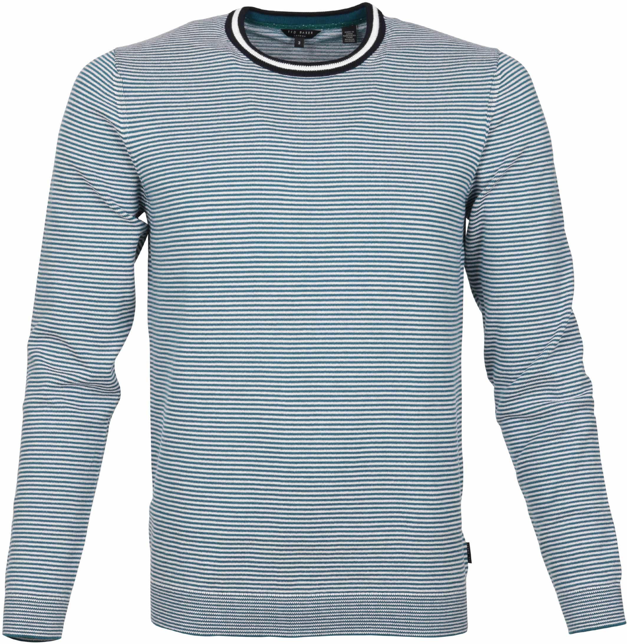 ef907708dca88 Ted Baker Pullover Indigo Stripes 142679-13 order online