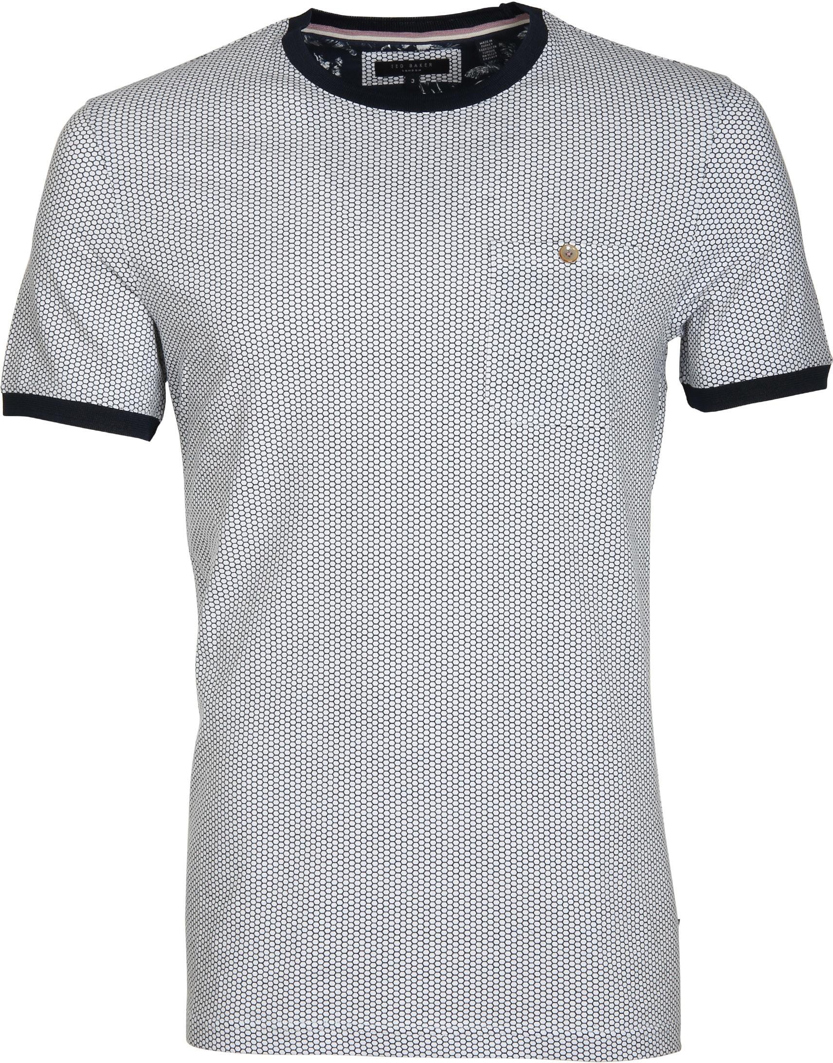 Ted Baker T-Shirt Honinggraat foto 0
