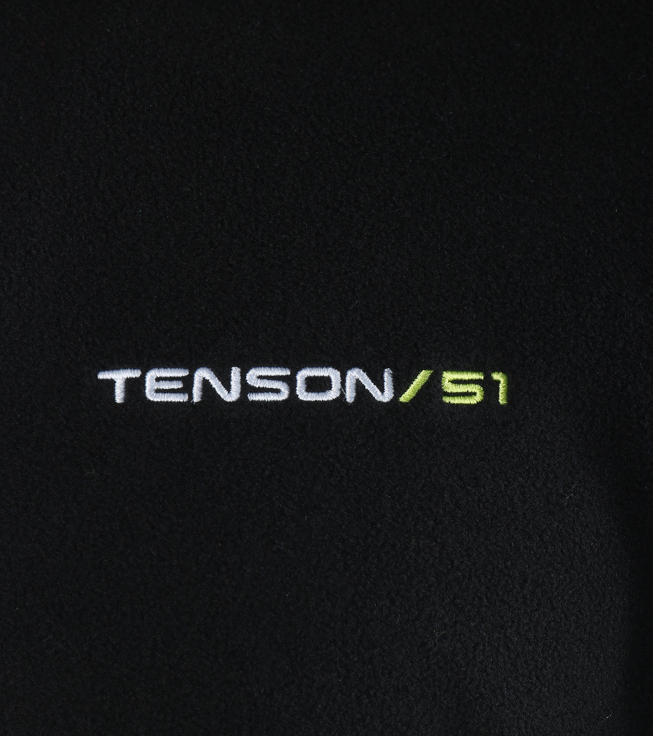 Tenson Fleece Cardigan Miller Black foto 3