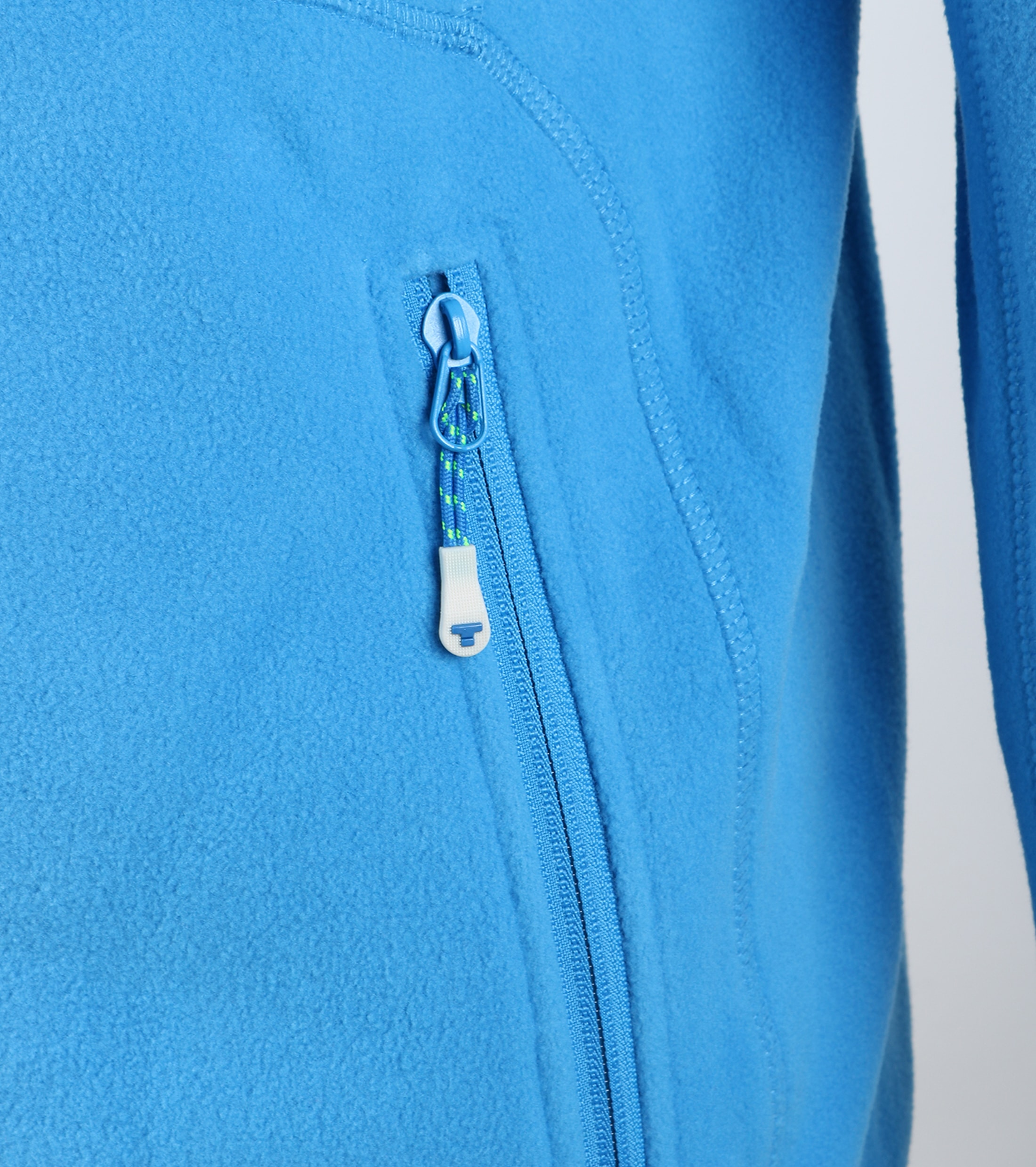 Tenson Fleece Cardigan Miller Blue foto 1