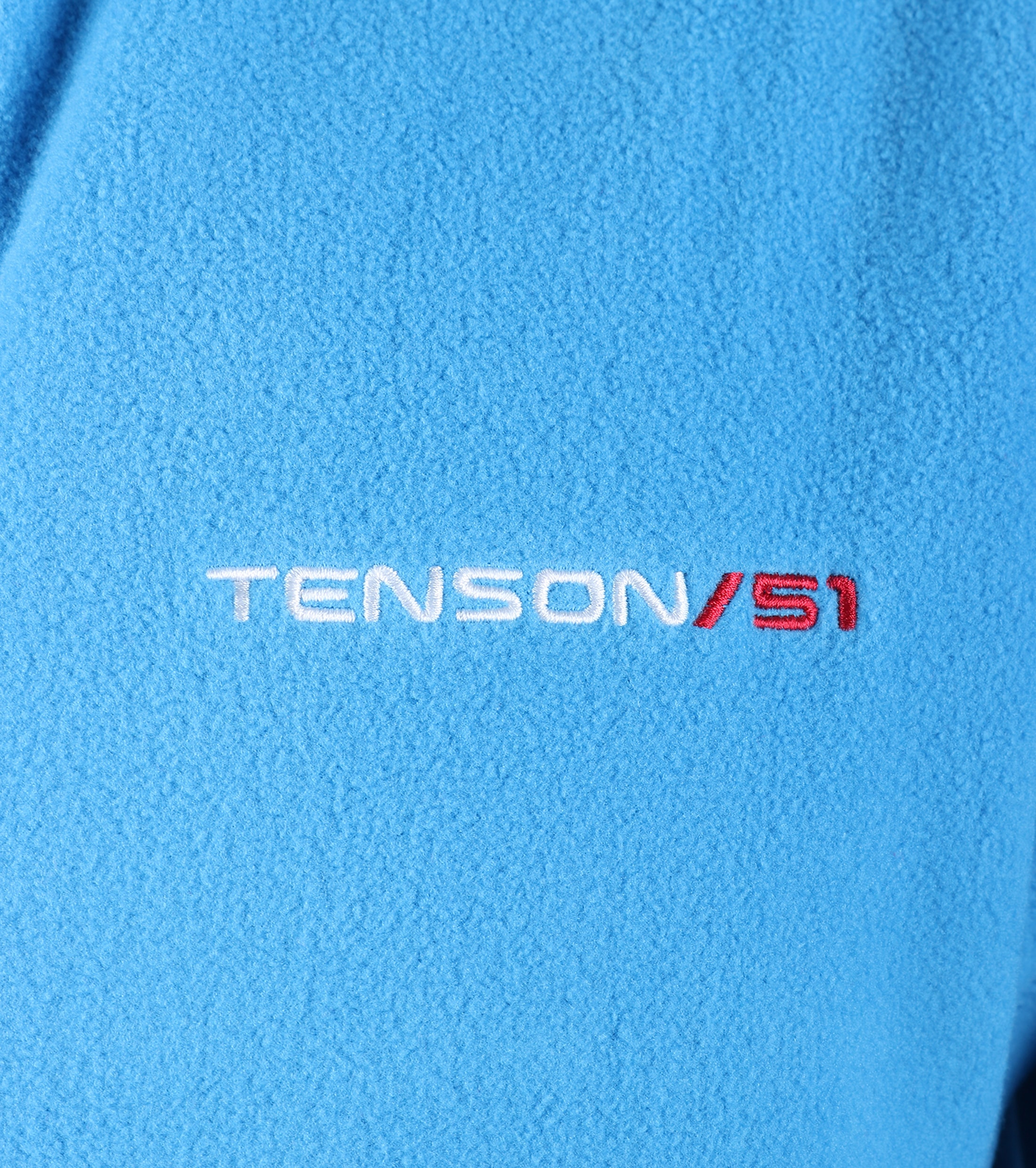 Tenson Fleece Cardigan Miller Blue foto 3