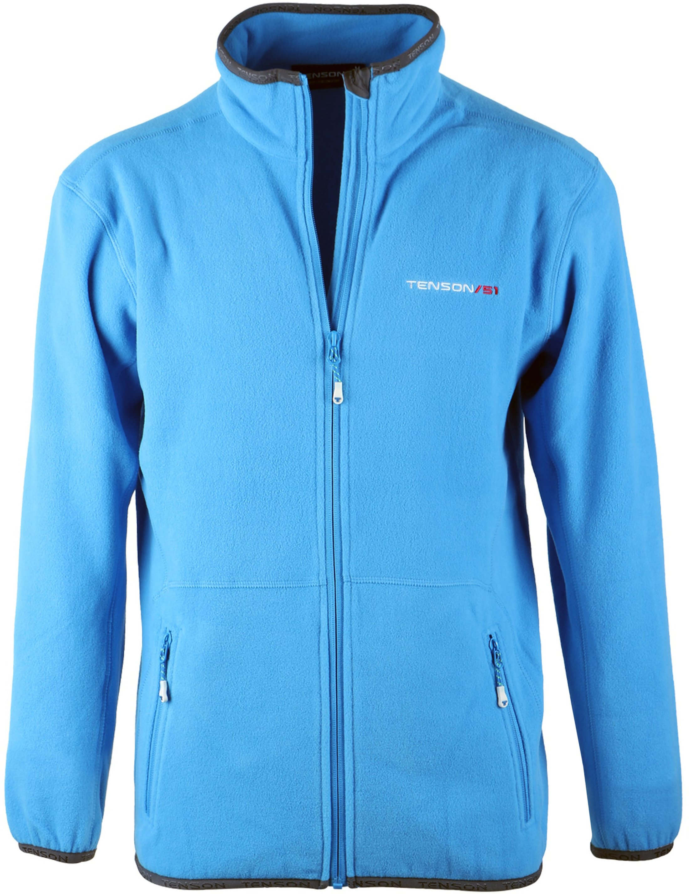 Tenson Fleece Cardigan Miller Blue foto 0