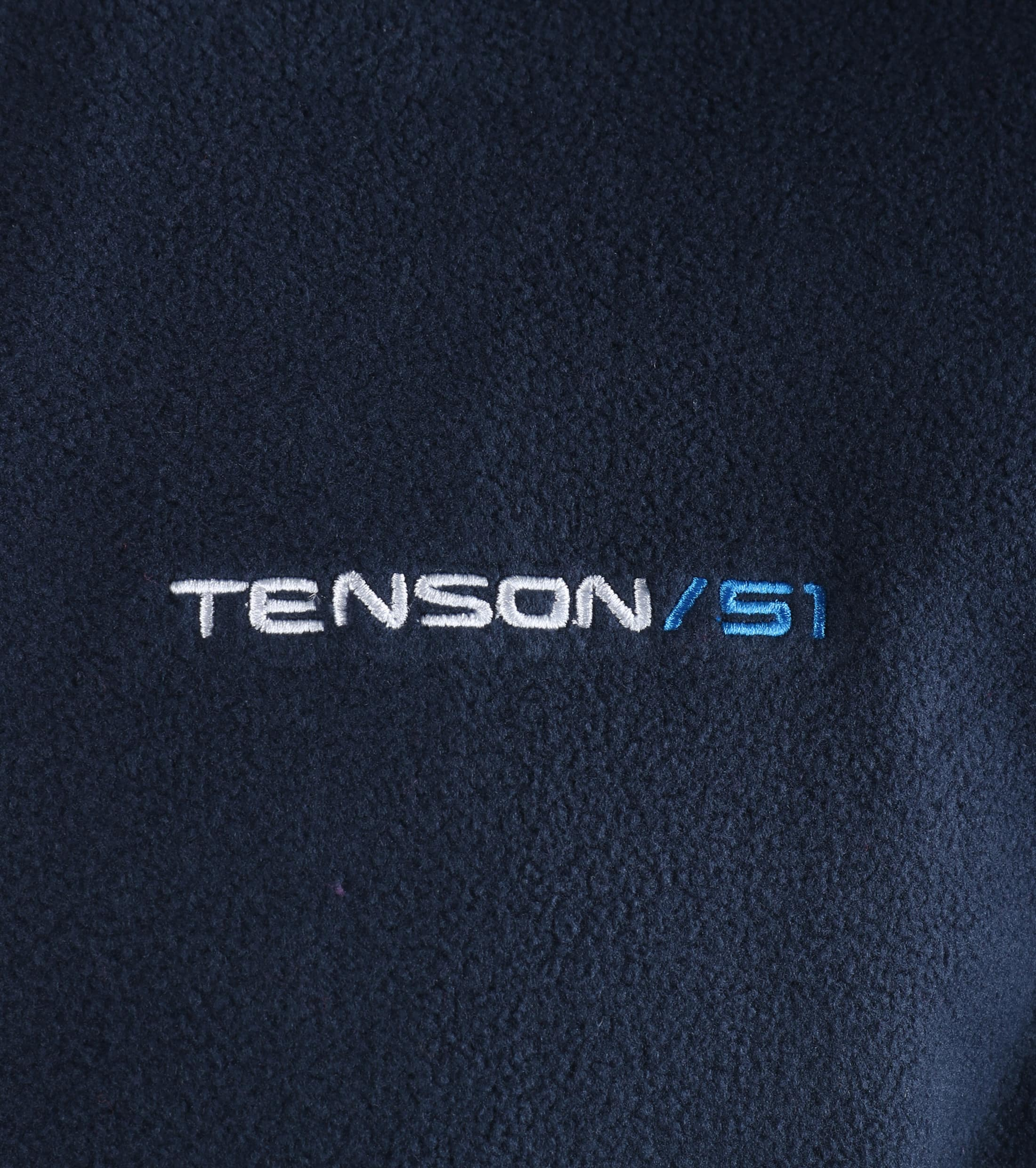 Tenson Fleece Cardigan Miller Navy foto 1