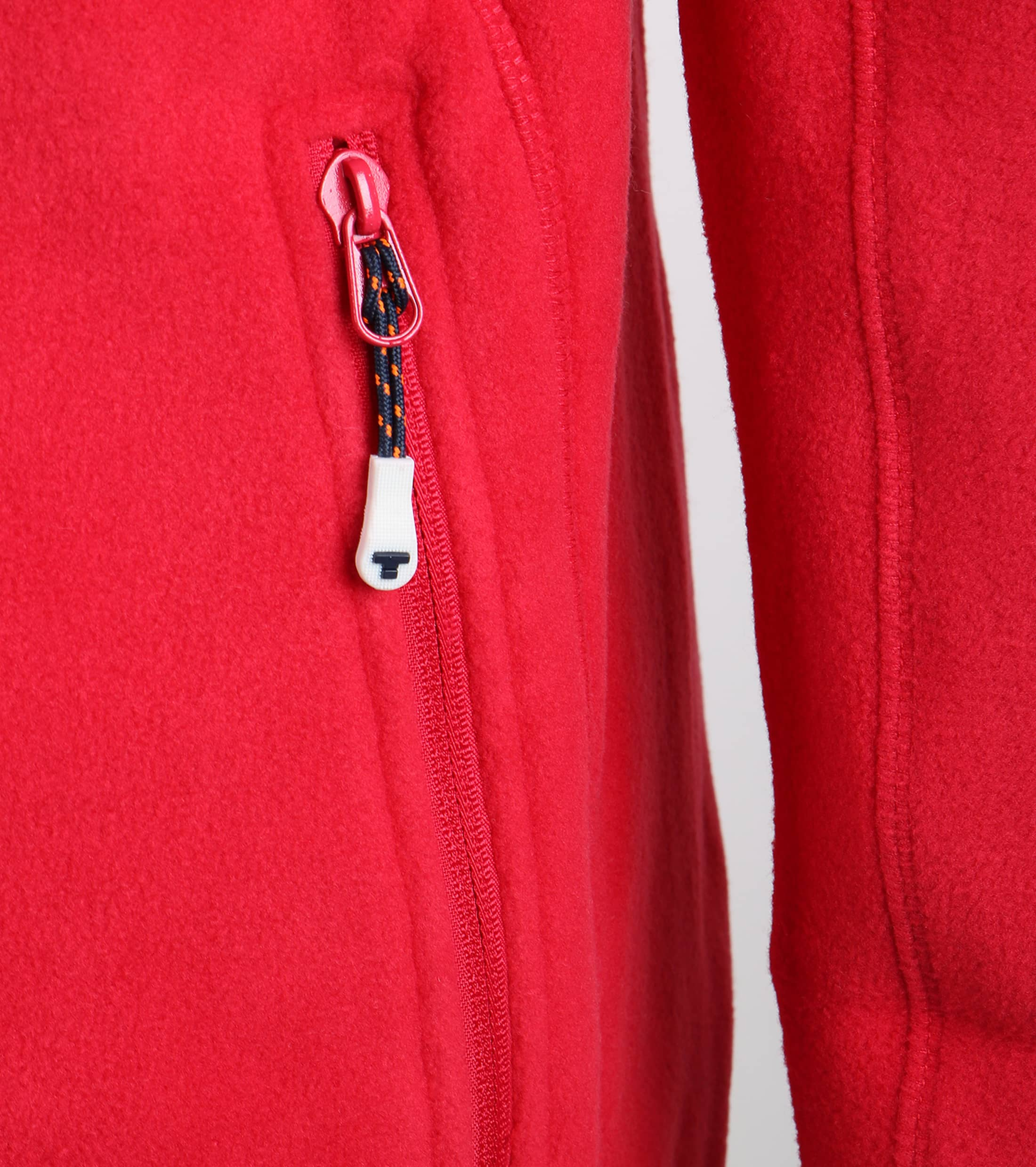 Tenson Fleece Cardigan Miller Red foto 2
