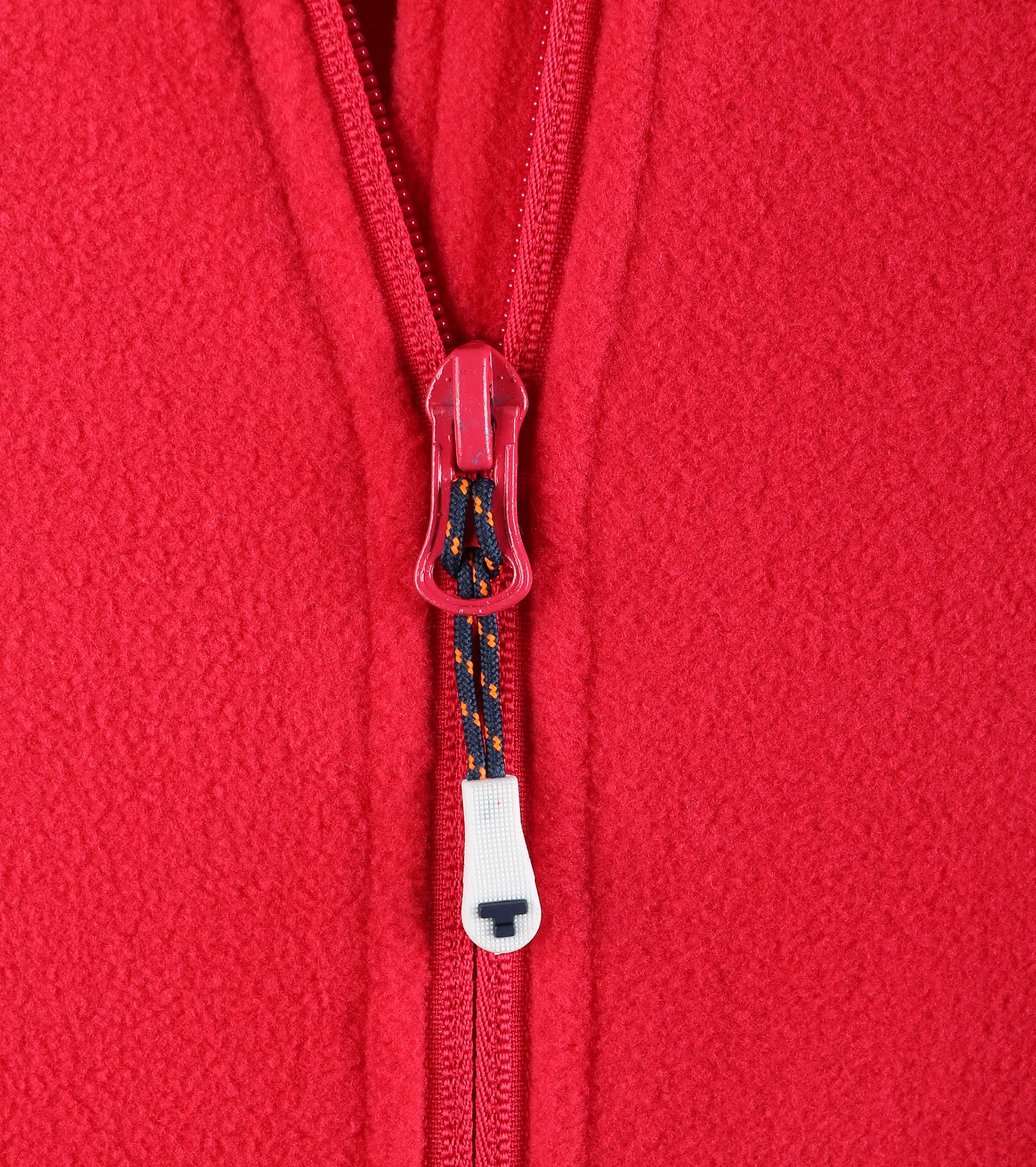 Tenson Fleece Cardigan Miller Red foto 1