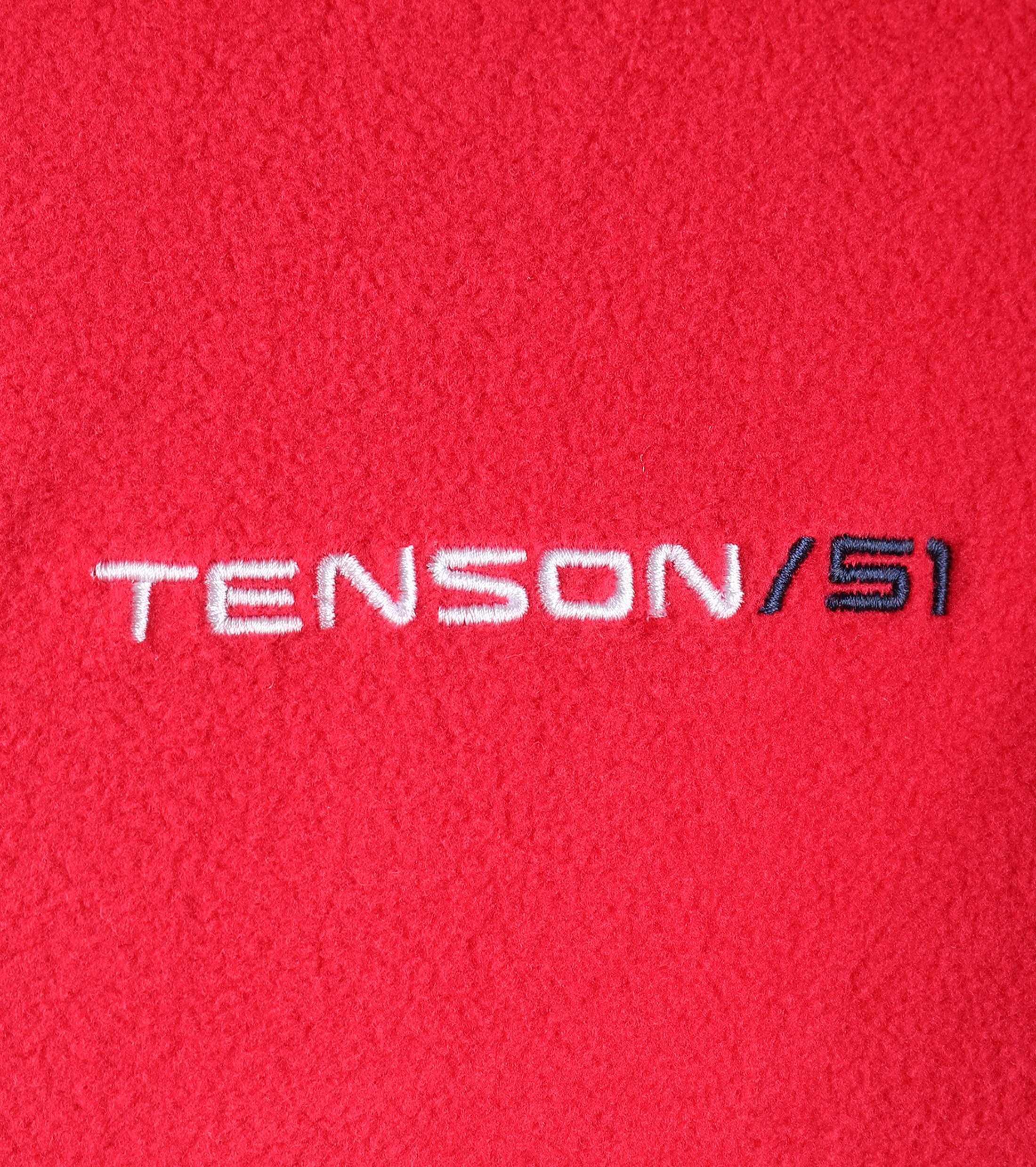 Tenson Fleece Cardigan Miller Red foto 3