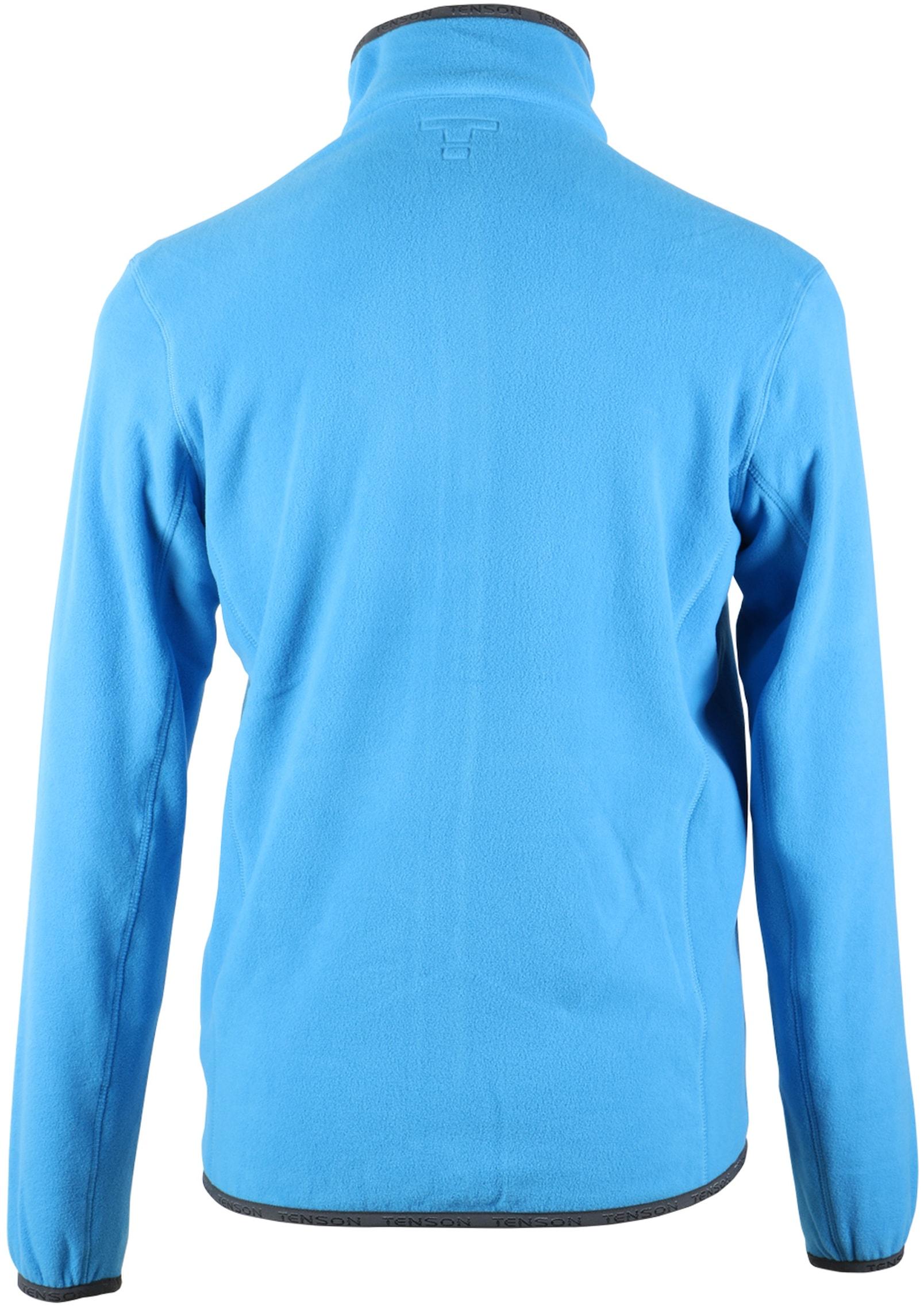 Tenson Fleece Vest Miller Blauw foto 4