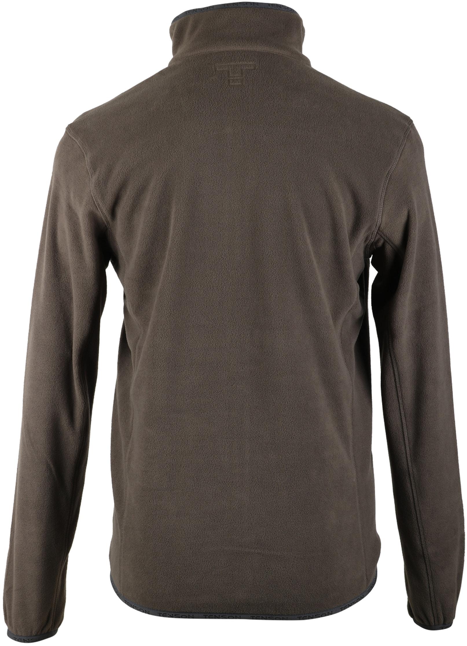 Tenson Fleece Vest Miller Bruin foto 4