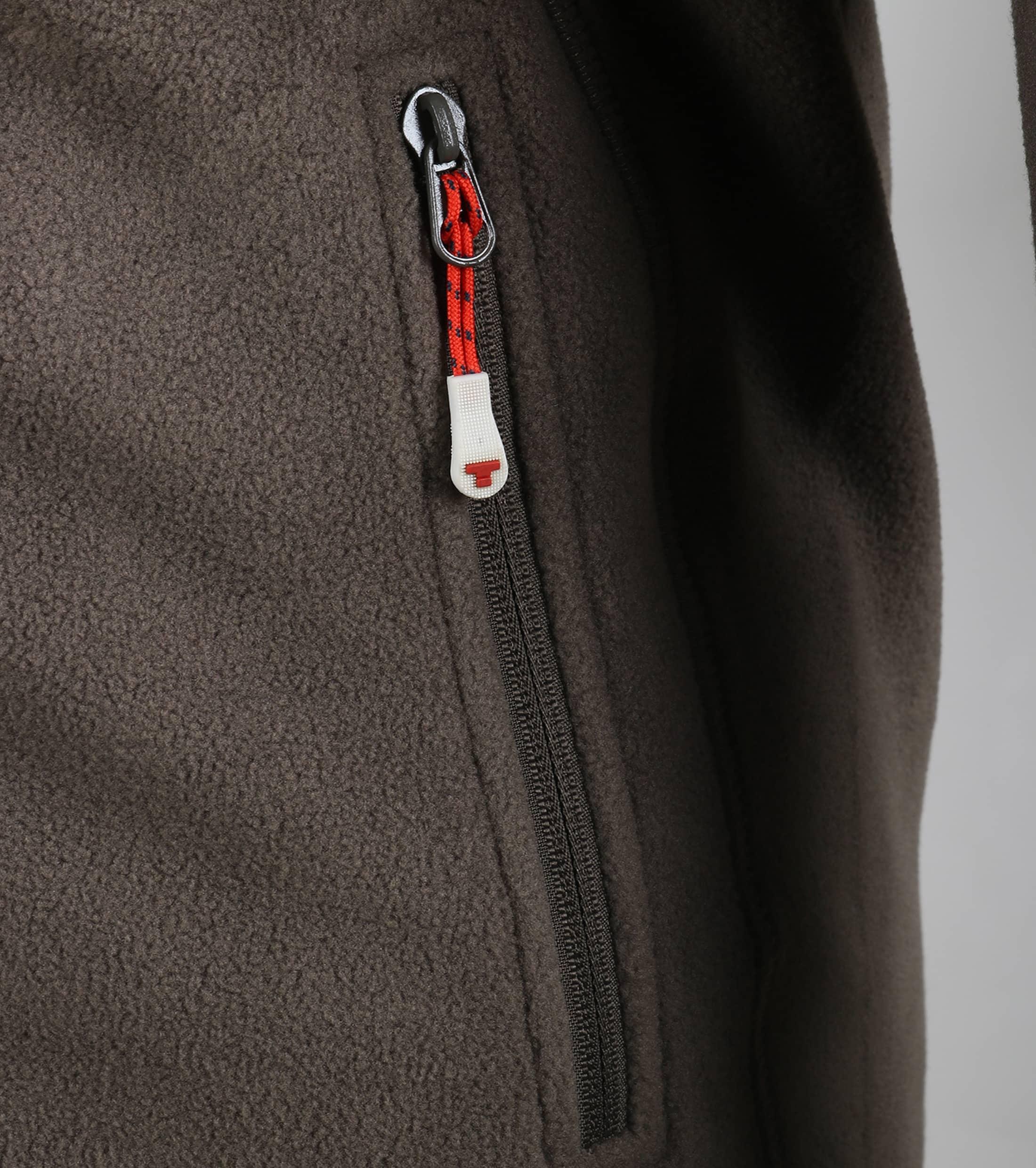 Tenson Fleece Vest Miller Bruin foto 1