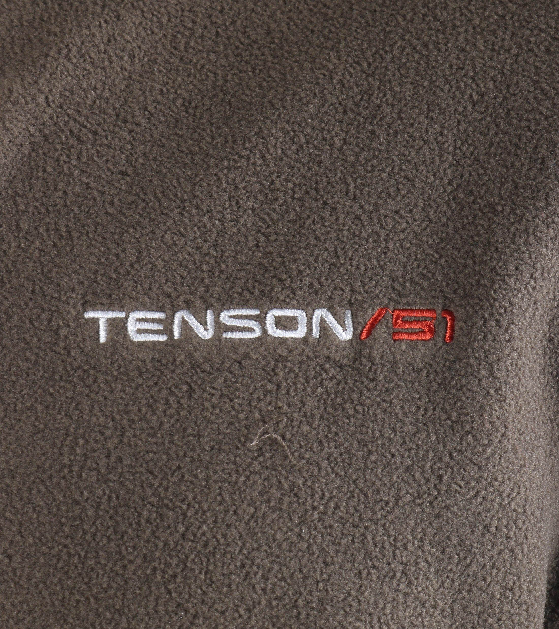 Tenson Fleece Vest Miller Bruin foto 3