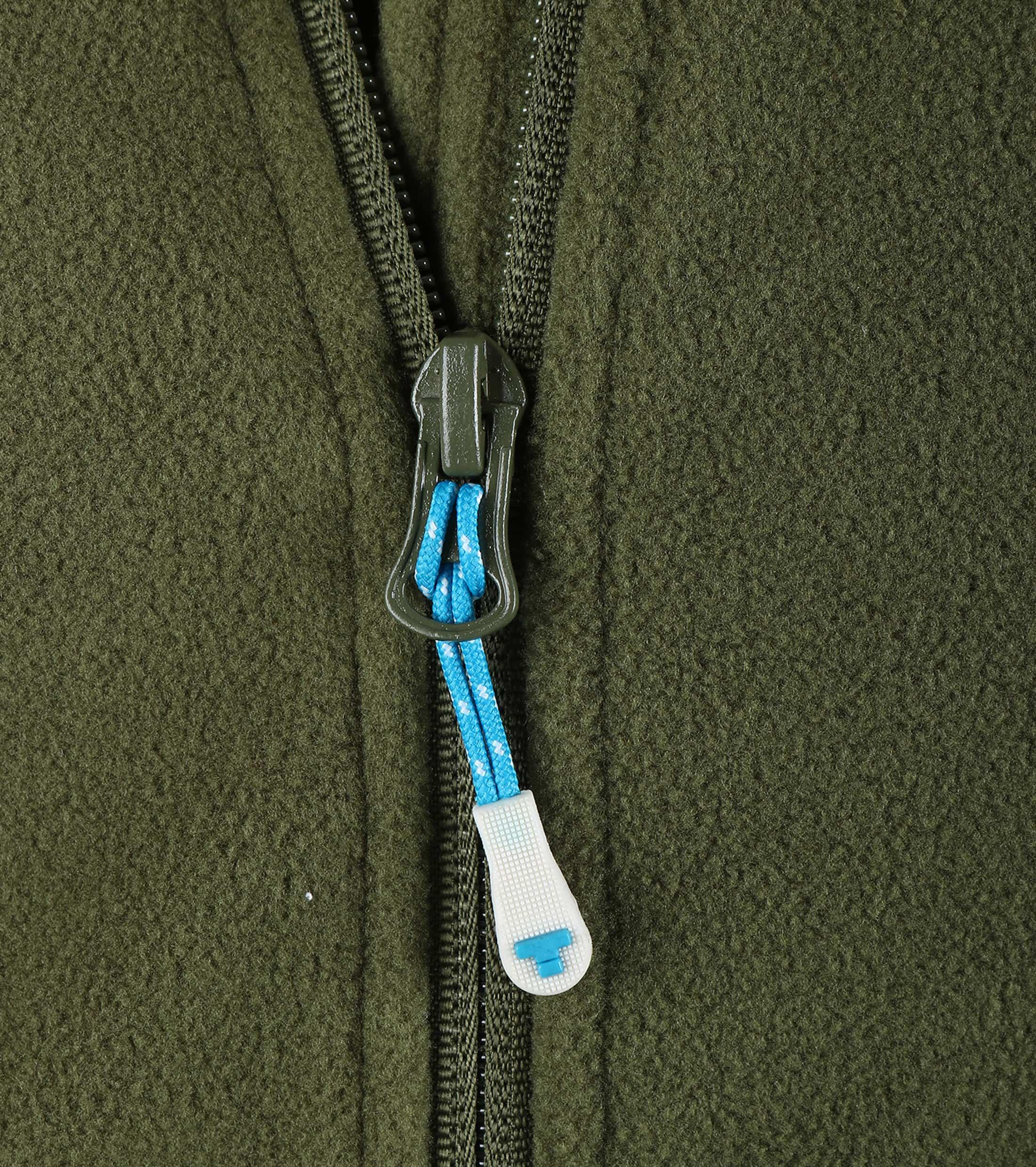 Tenson Fleece Vest Miller Groen foto 2