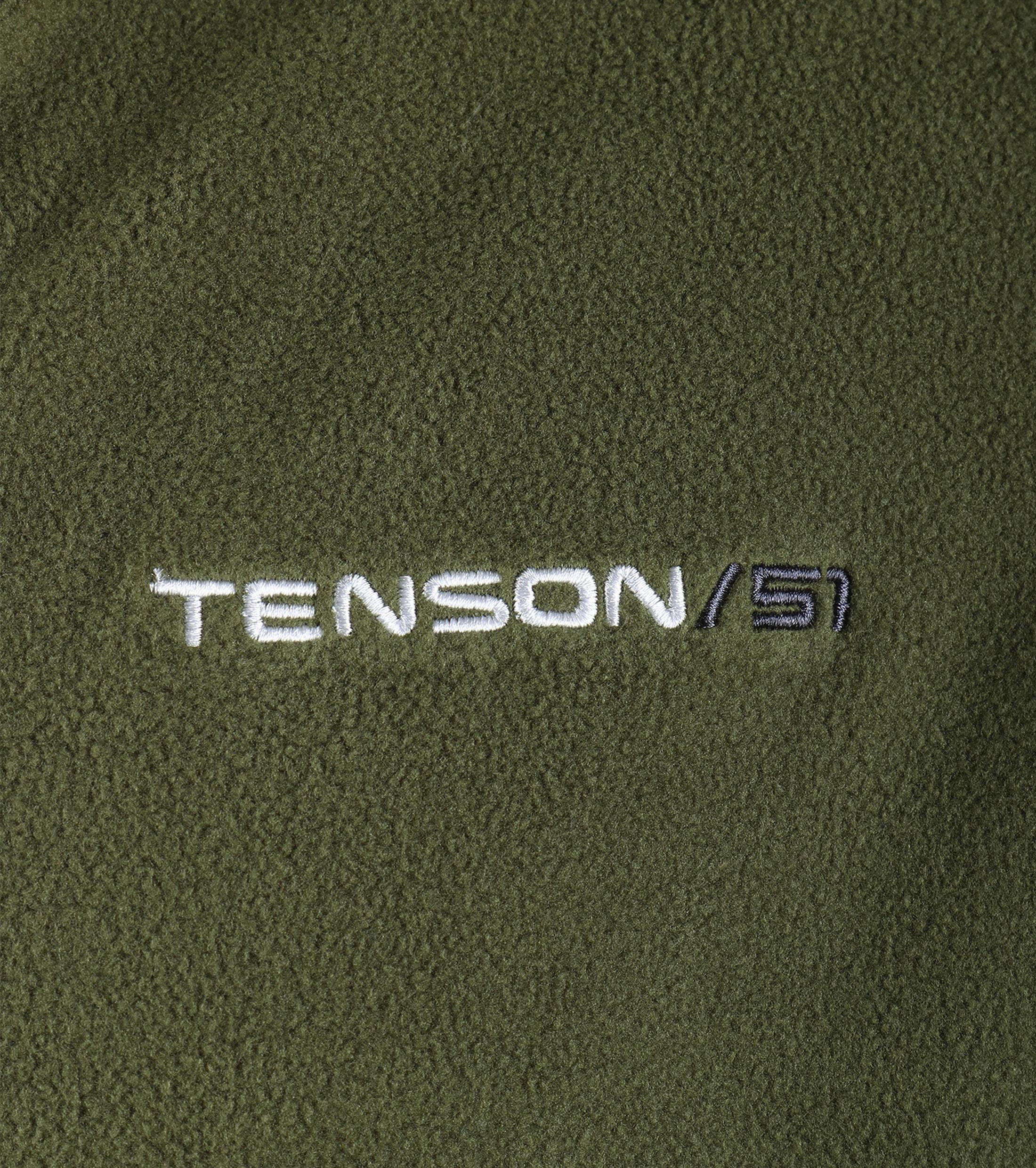 Tenson Fleece Vest Miller Groen foto 3