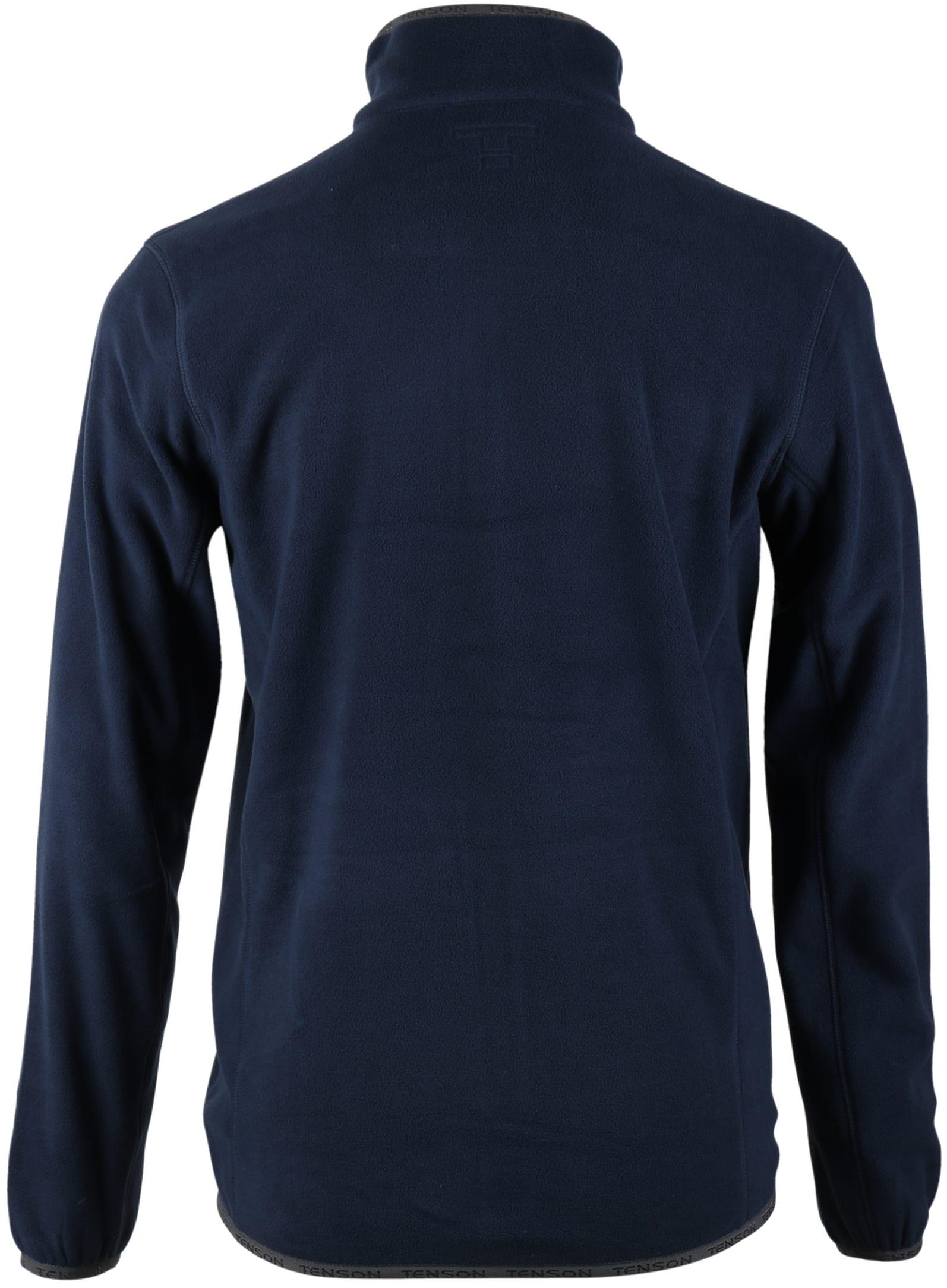 Tenson Fleece Vest Miller Navy foto 4
