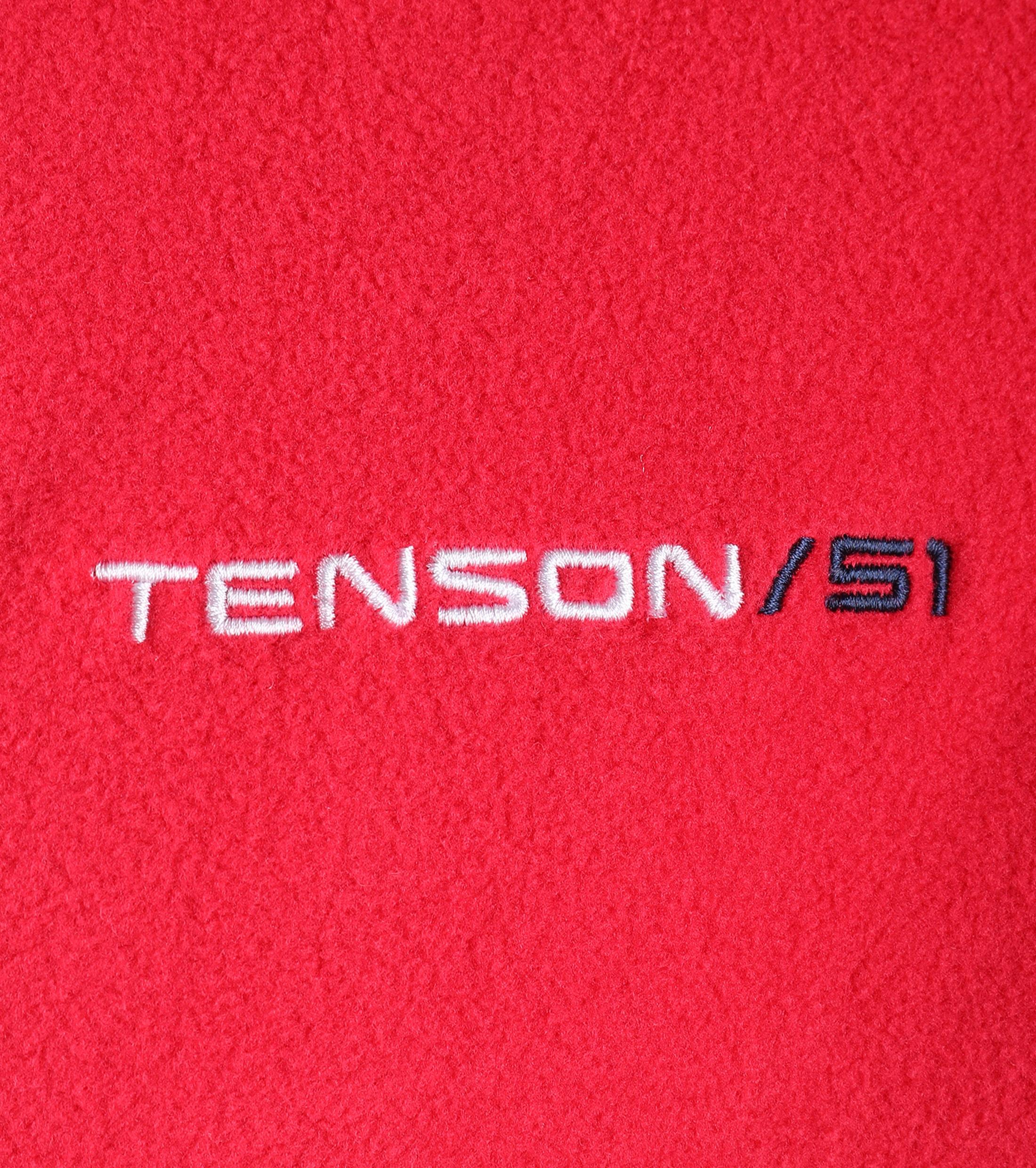 Tenson Fleece Vest Miller Rood foto 3