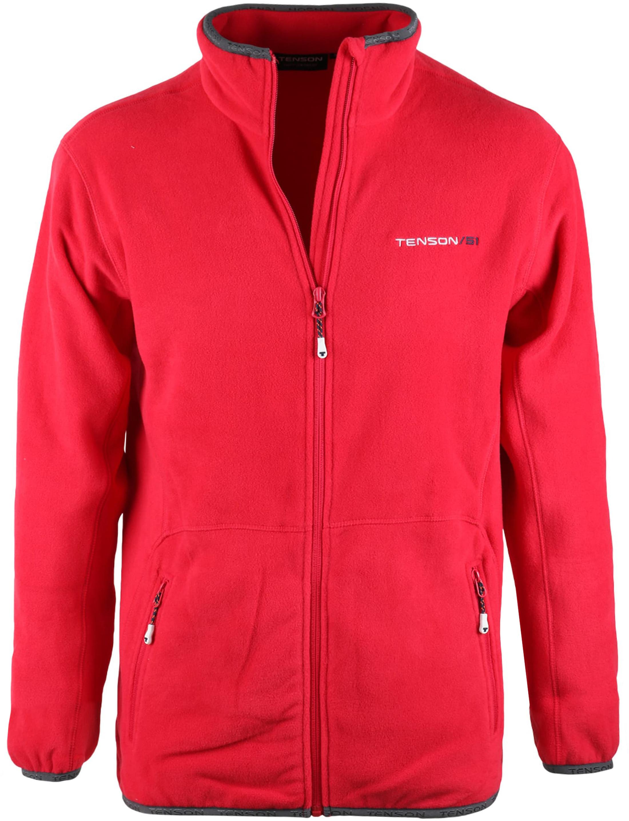 schattig goedkoop mannen / man nu kopen Tenson Fleece Vest Miller Rood 2752950-038