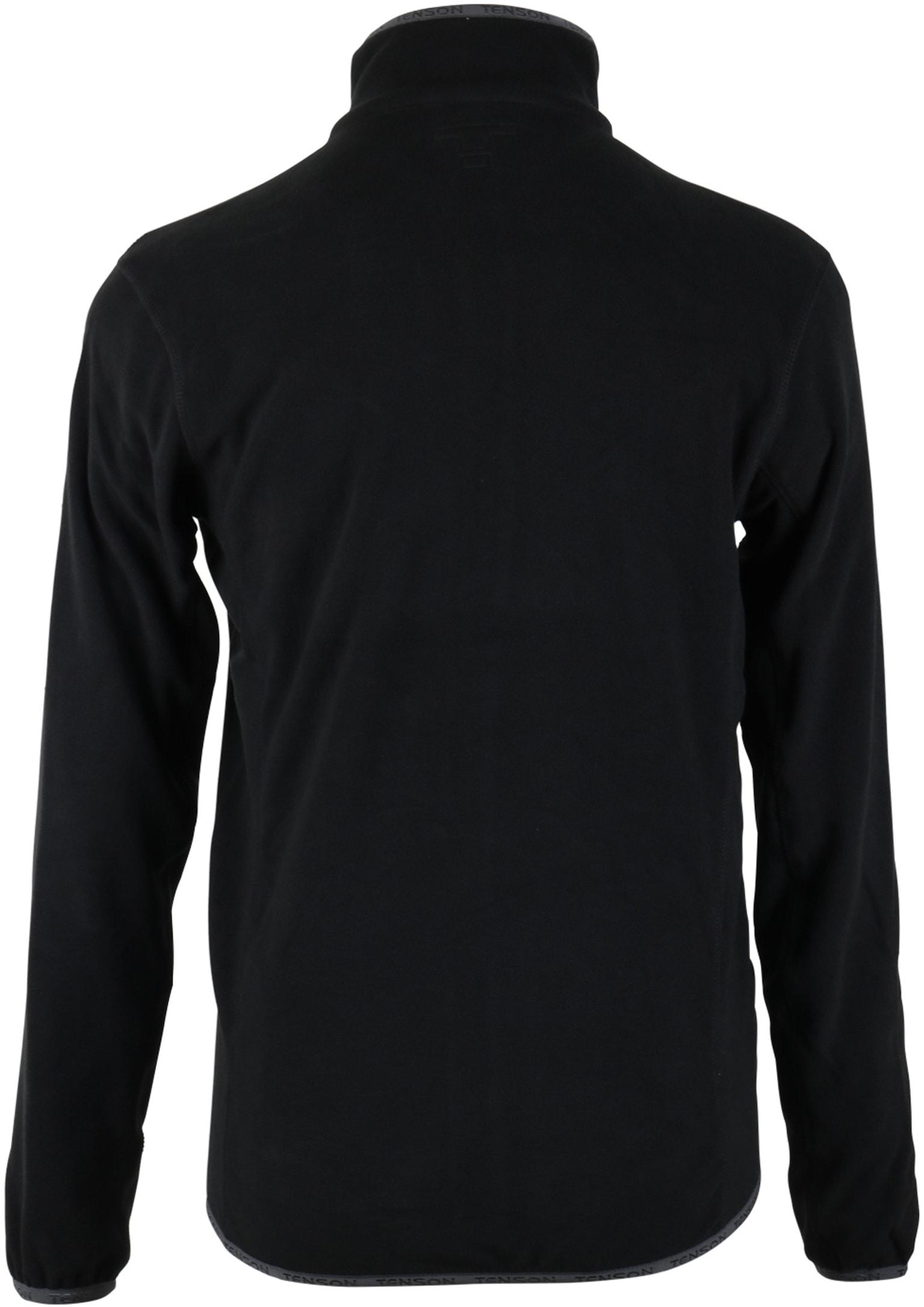 Tenson Fleece Vest Miller Zwart foto 4