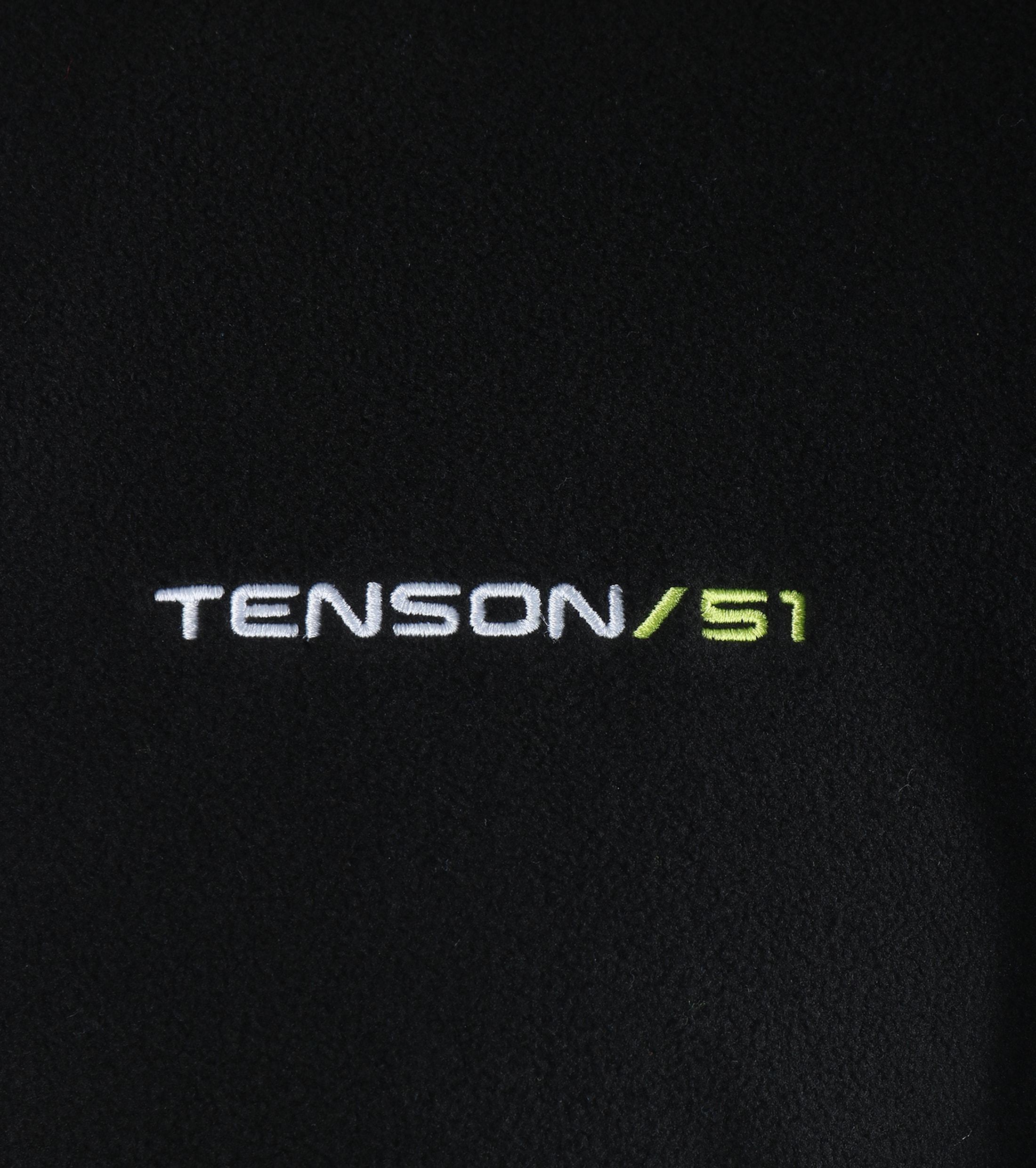 Tenson Fleece Vest Miller Zwart foto 3