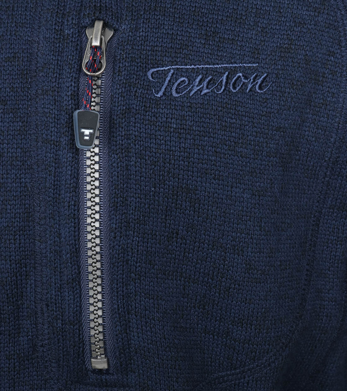 Tenson Fleece Vest Skiffer Navy foto 1