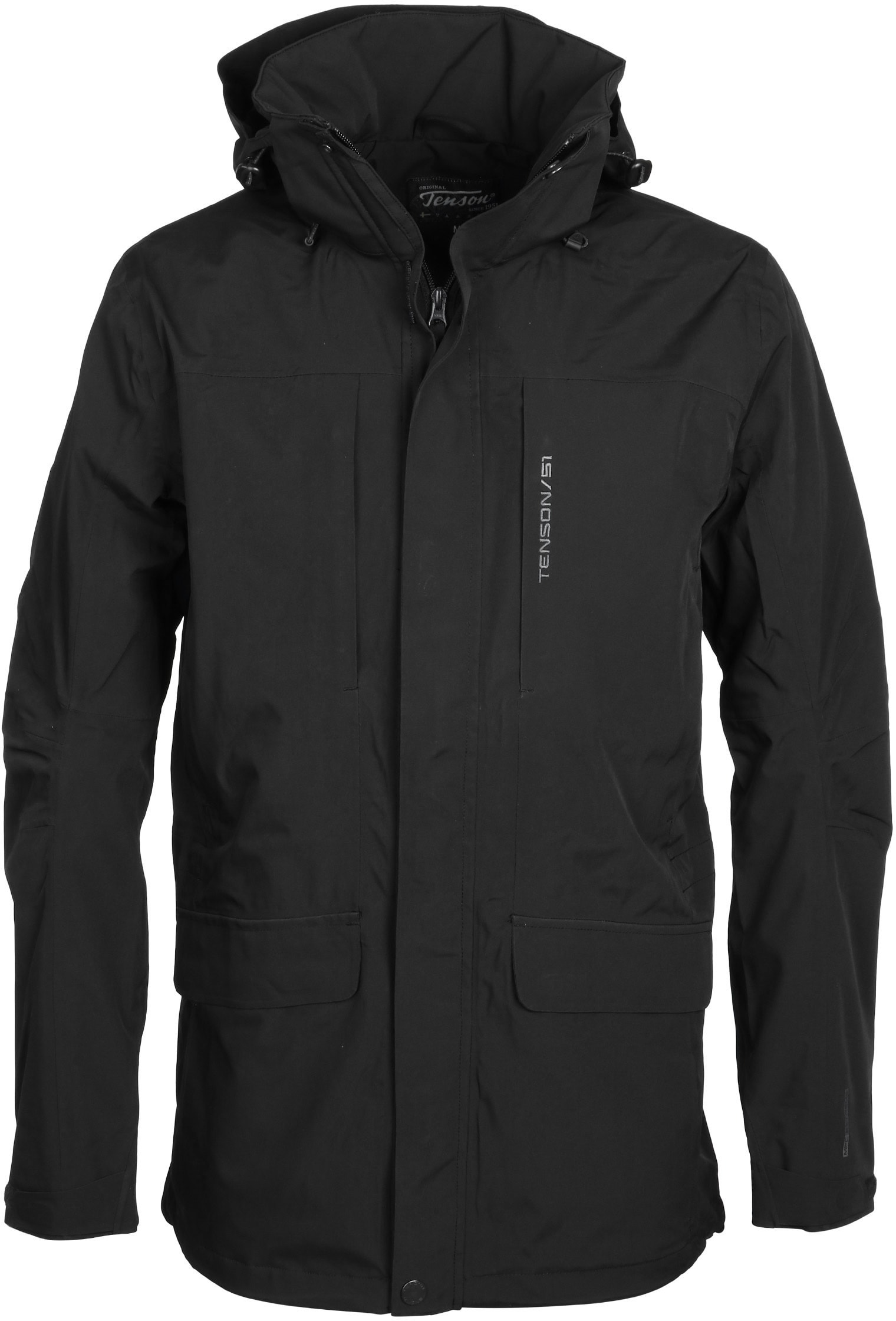 Tenson Hiley Jacket Black 5013436-999 Hiley Black order online ... 88d3bc4ea2