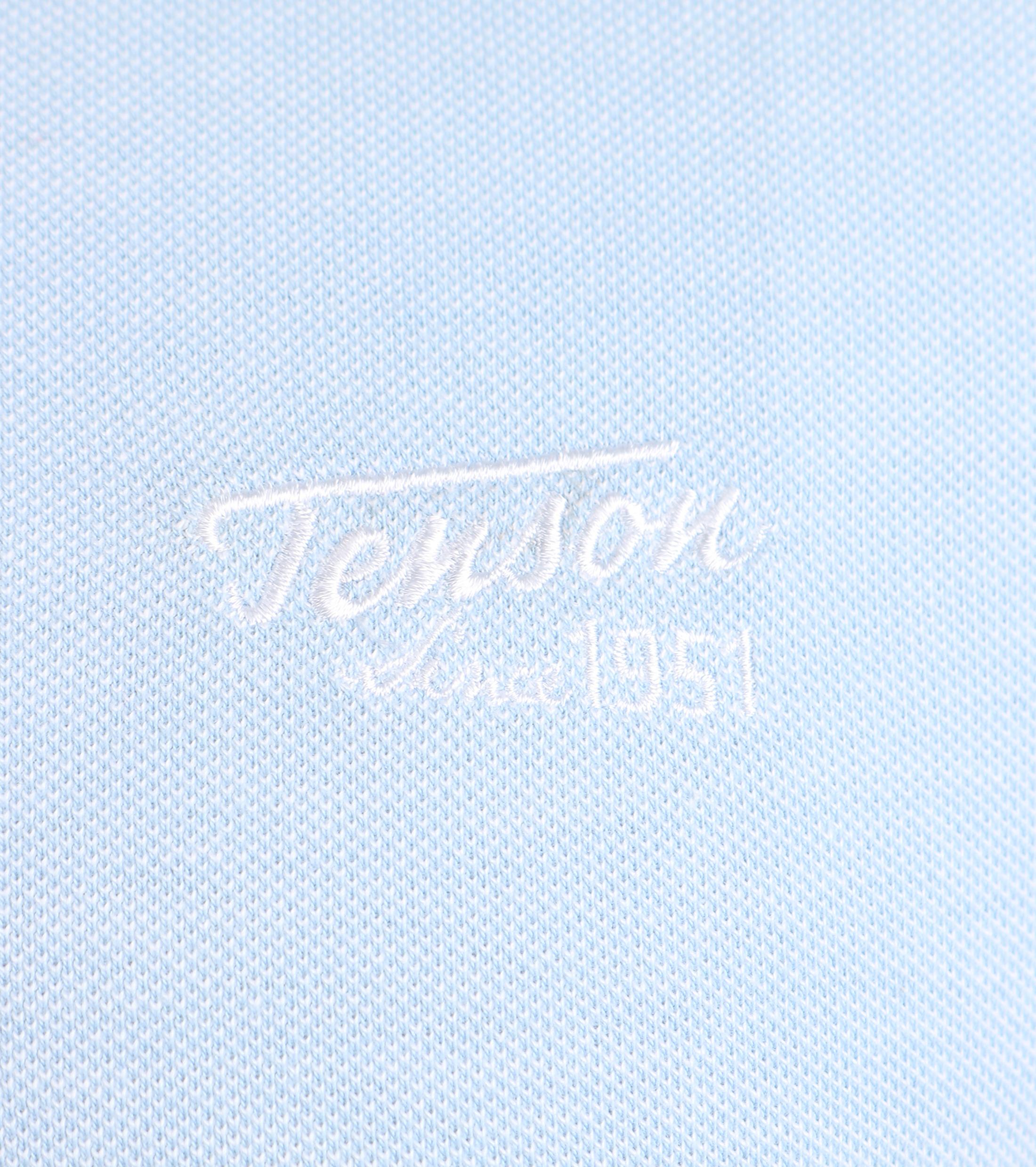 Tenson Polo Licht Blauw foto 1