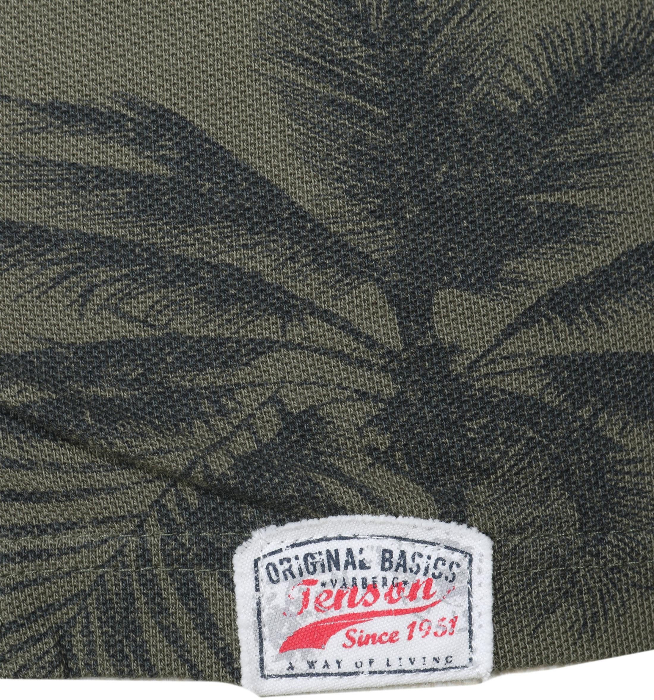 Tenson Polo Palmboom Groen foto 2