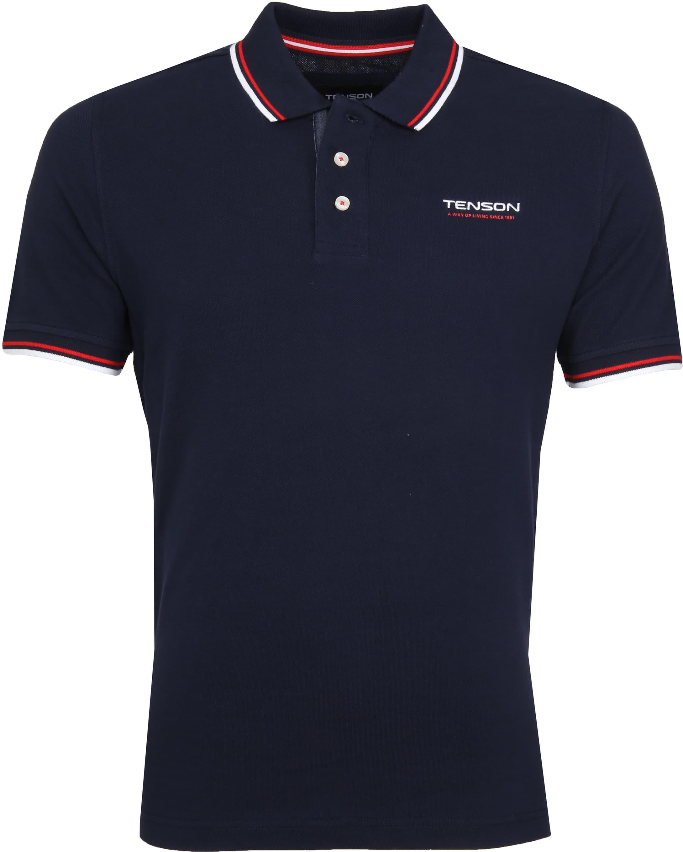 Tenson Poloshirt Barney Navy foto 0