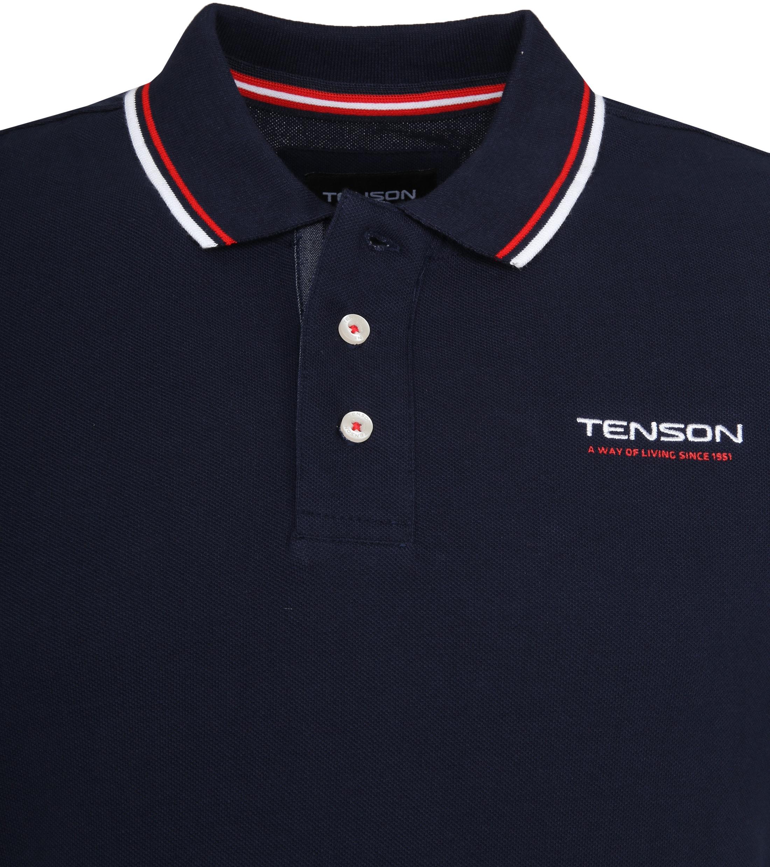 Tenson Poloshirt Barney Navy foto 1