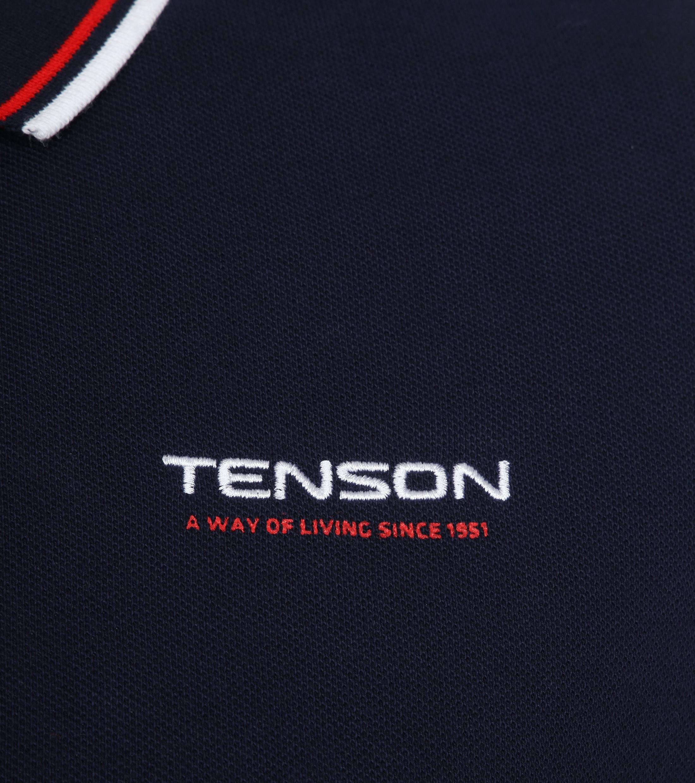 Tenson Poloshirt Barney Navy foto 2