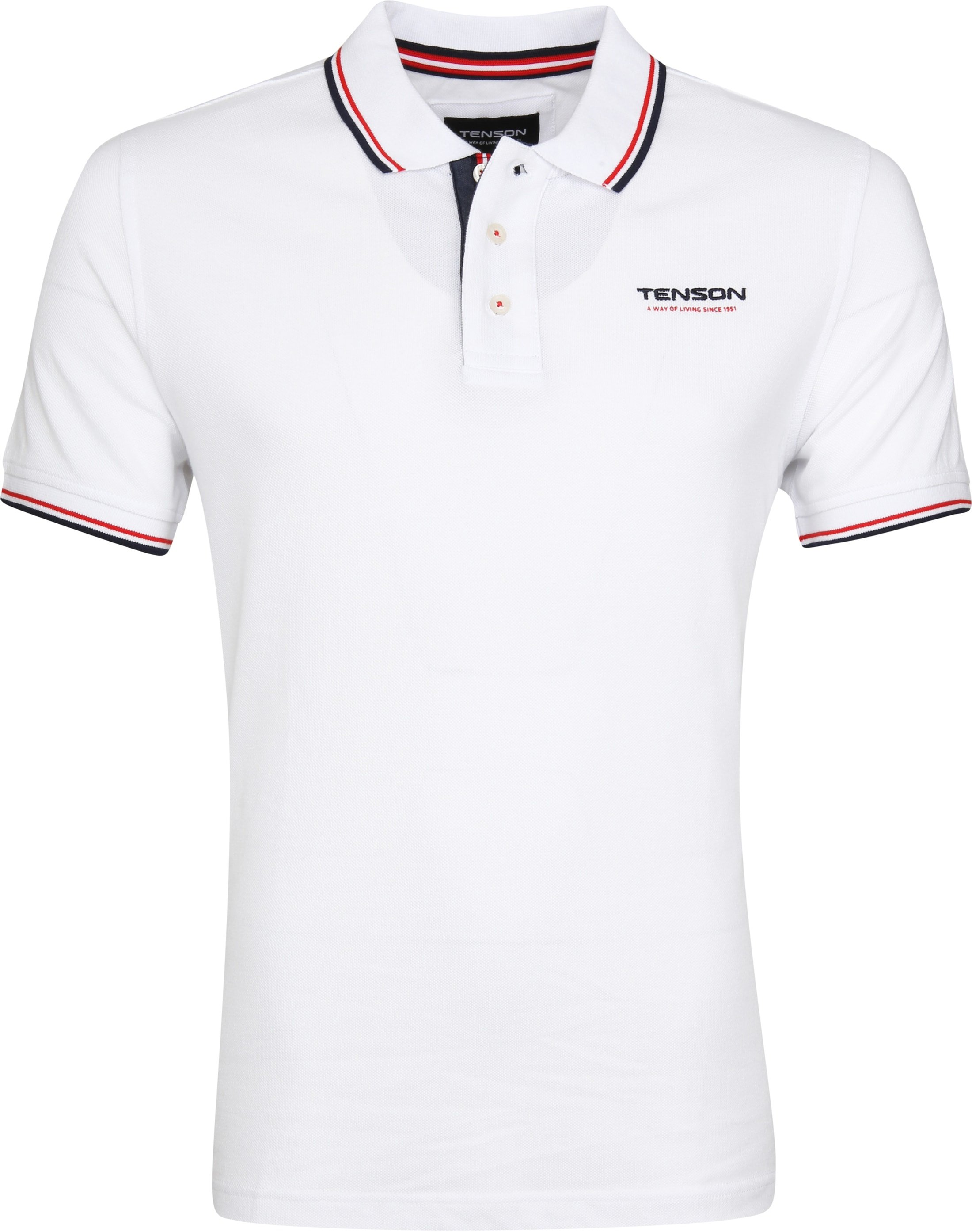 Tenson Poloshirt Barney Weiß foto 0