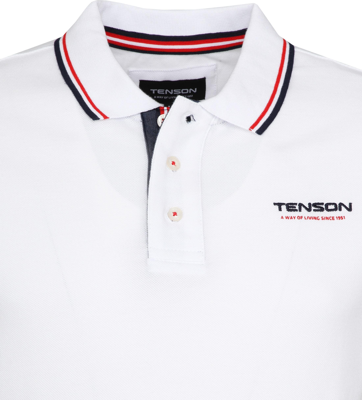 Tenson Poloshirt Barney Weiß foto 1