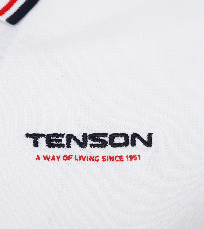 Tenson Poloshirt Barney Weiß foto 2