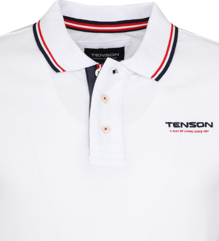 Tenson Poloshirt Barney White foto 1
