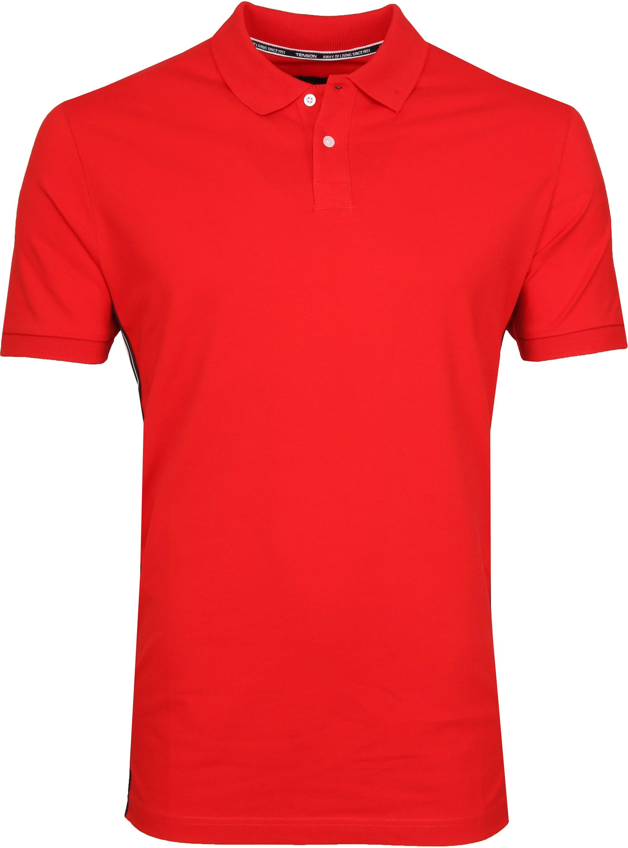 Tenson Poloshirt Zenith Red foto 0