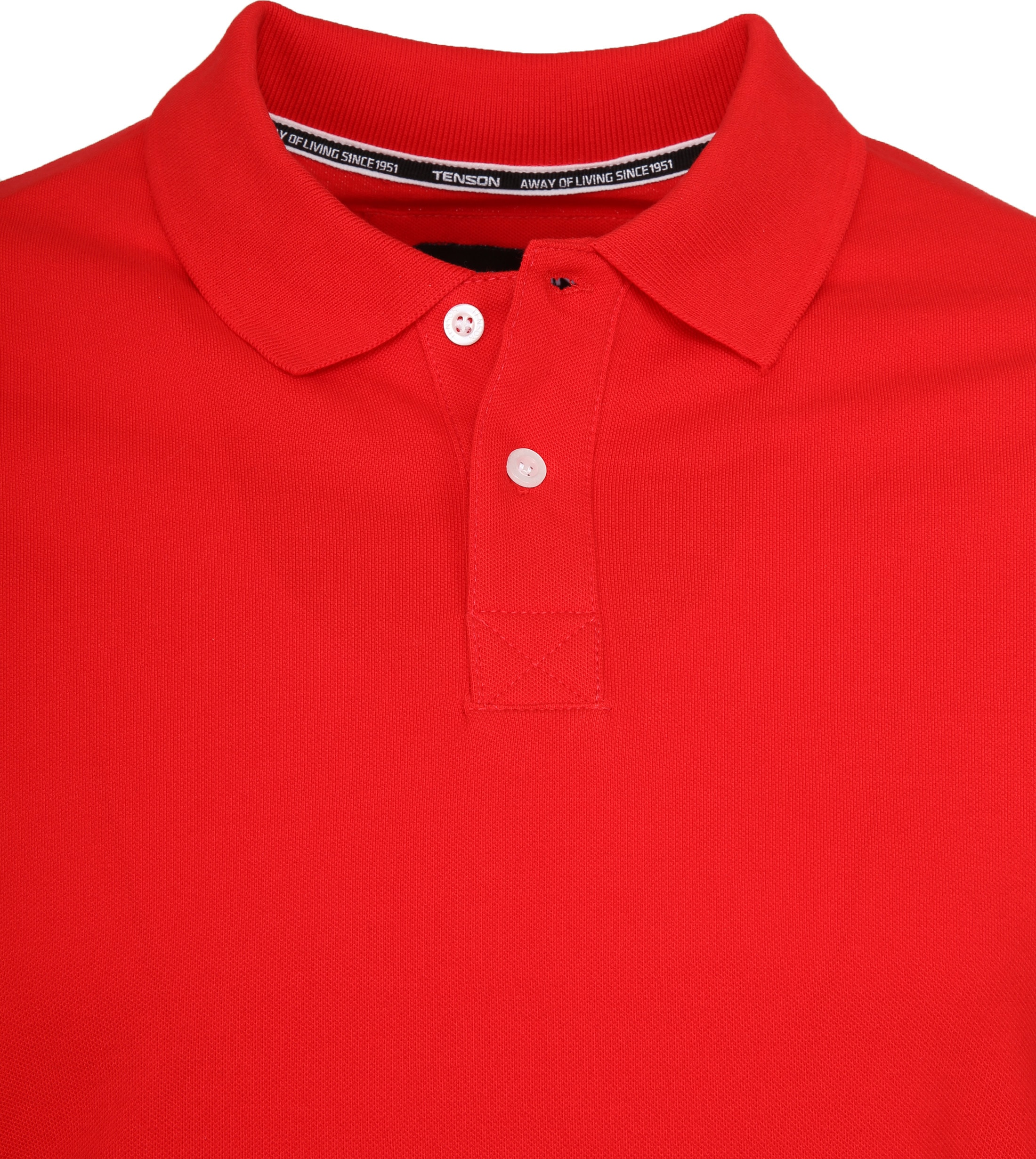 Tenson Poloshirt Zenith Red foto 1