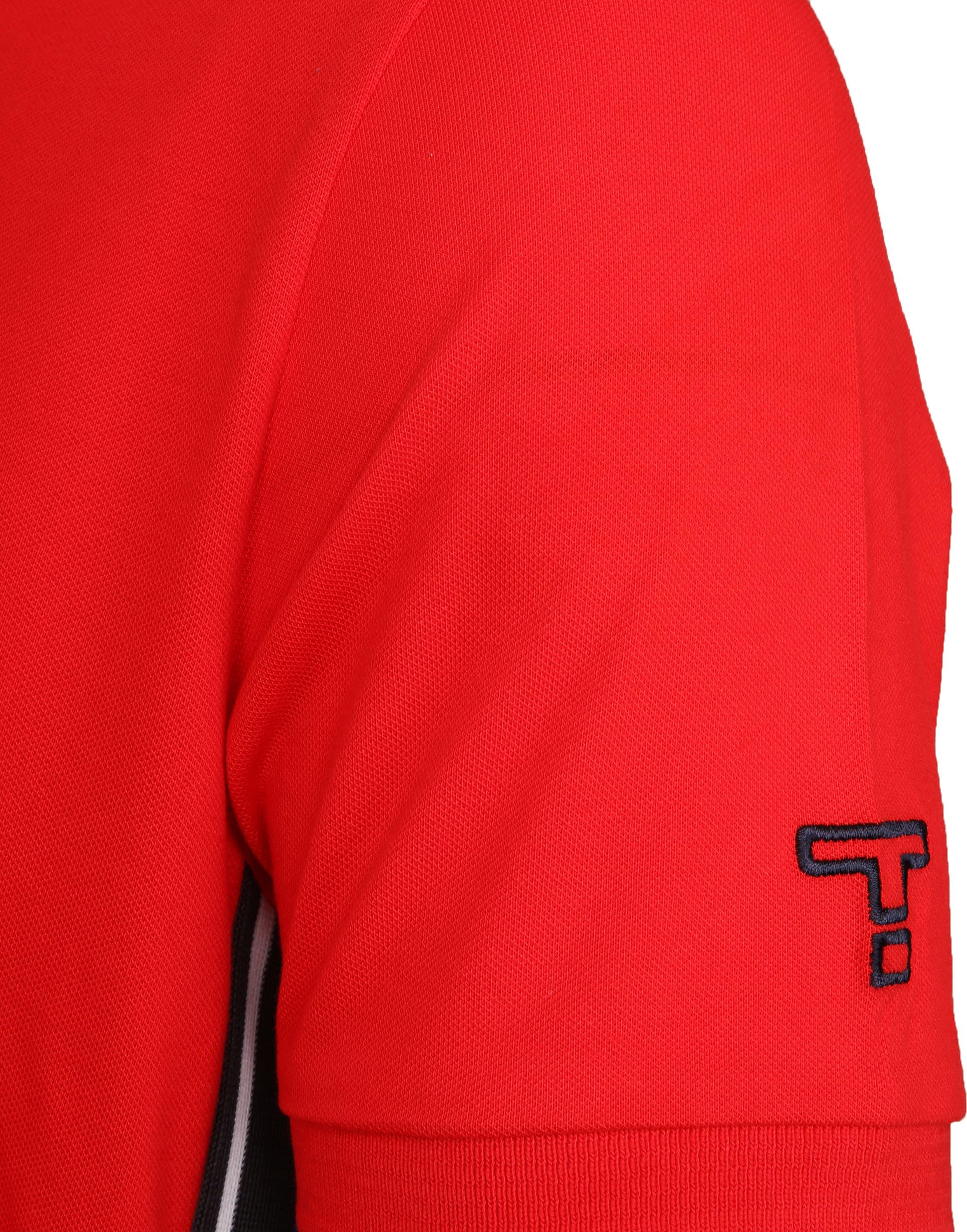 Tenson Poloshirt Zenith Red foto 2