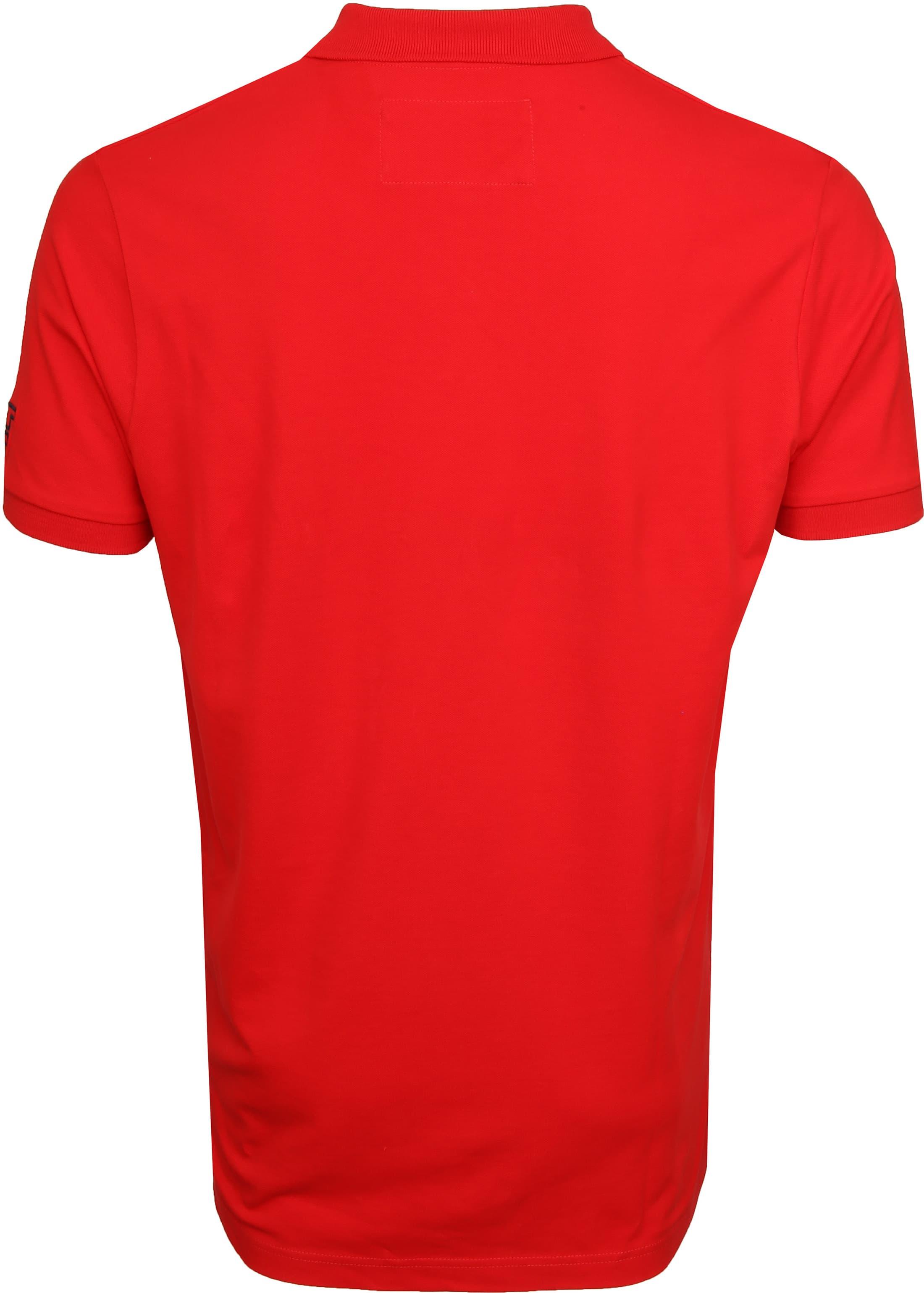 Tenson Poloshirt Zenith Red foto 4
