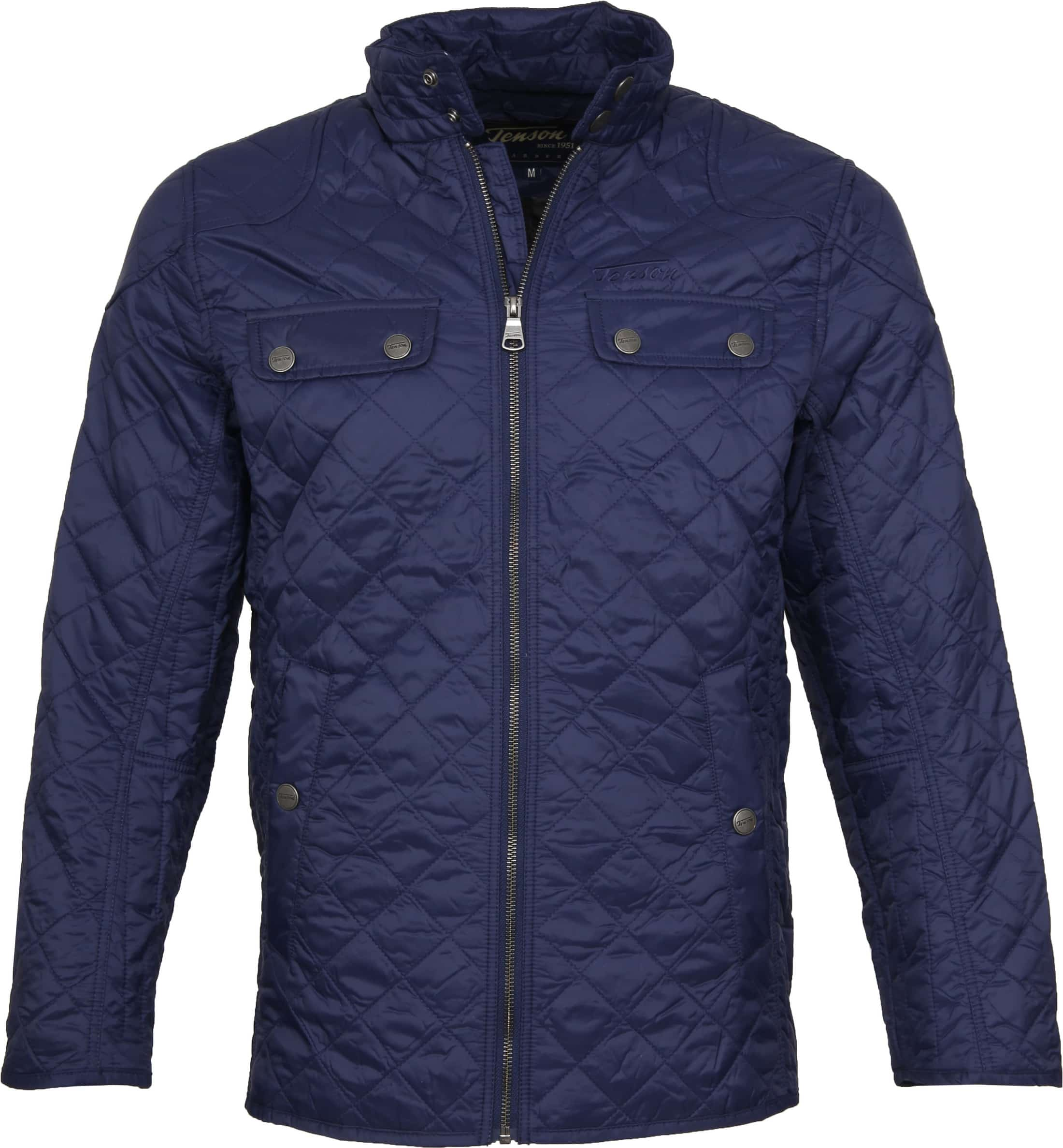 Tenson Samson Jacket Quilted Navy foto 0