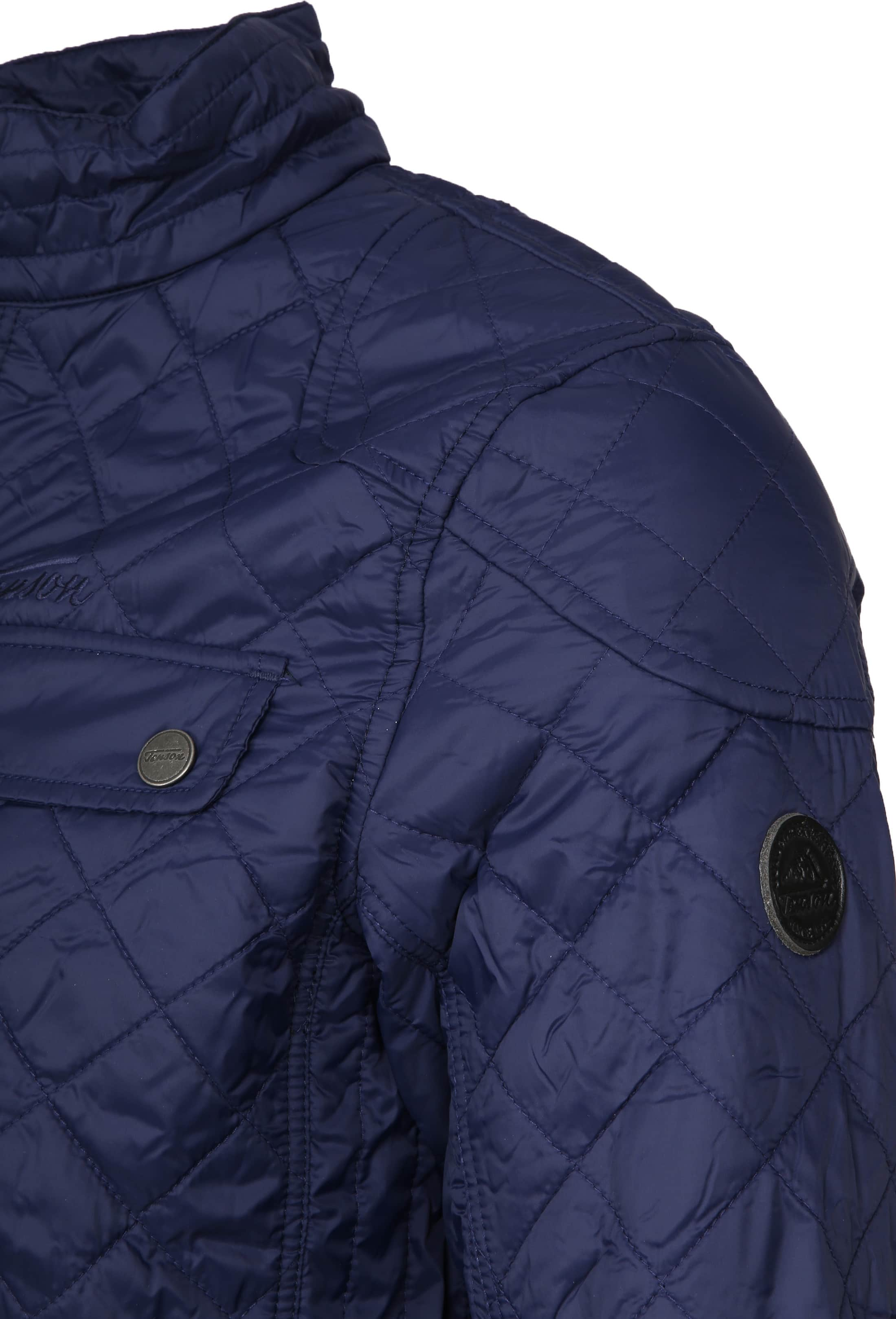 Tenson Samson Jacket Quilted Navy foto 2
