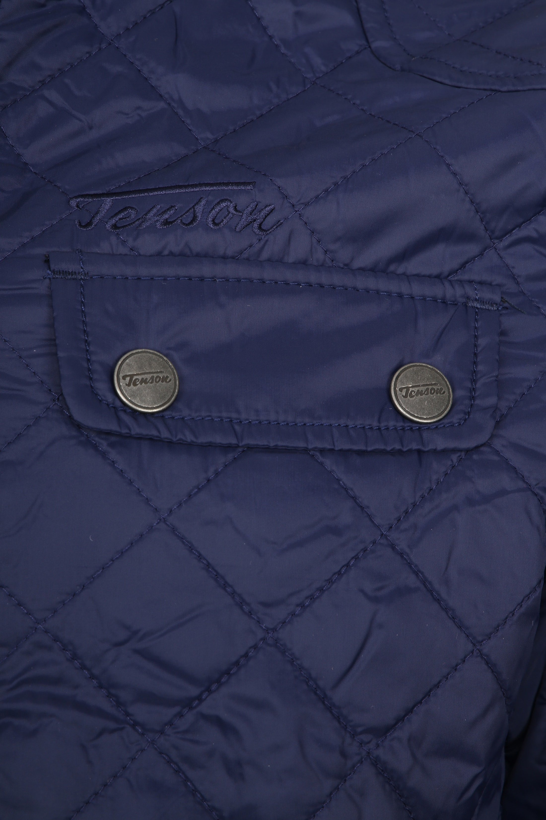 Tenson Samson Jacket Quilted Navy foto 3