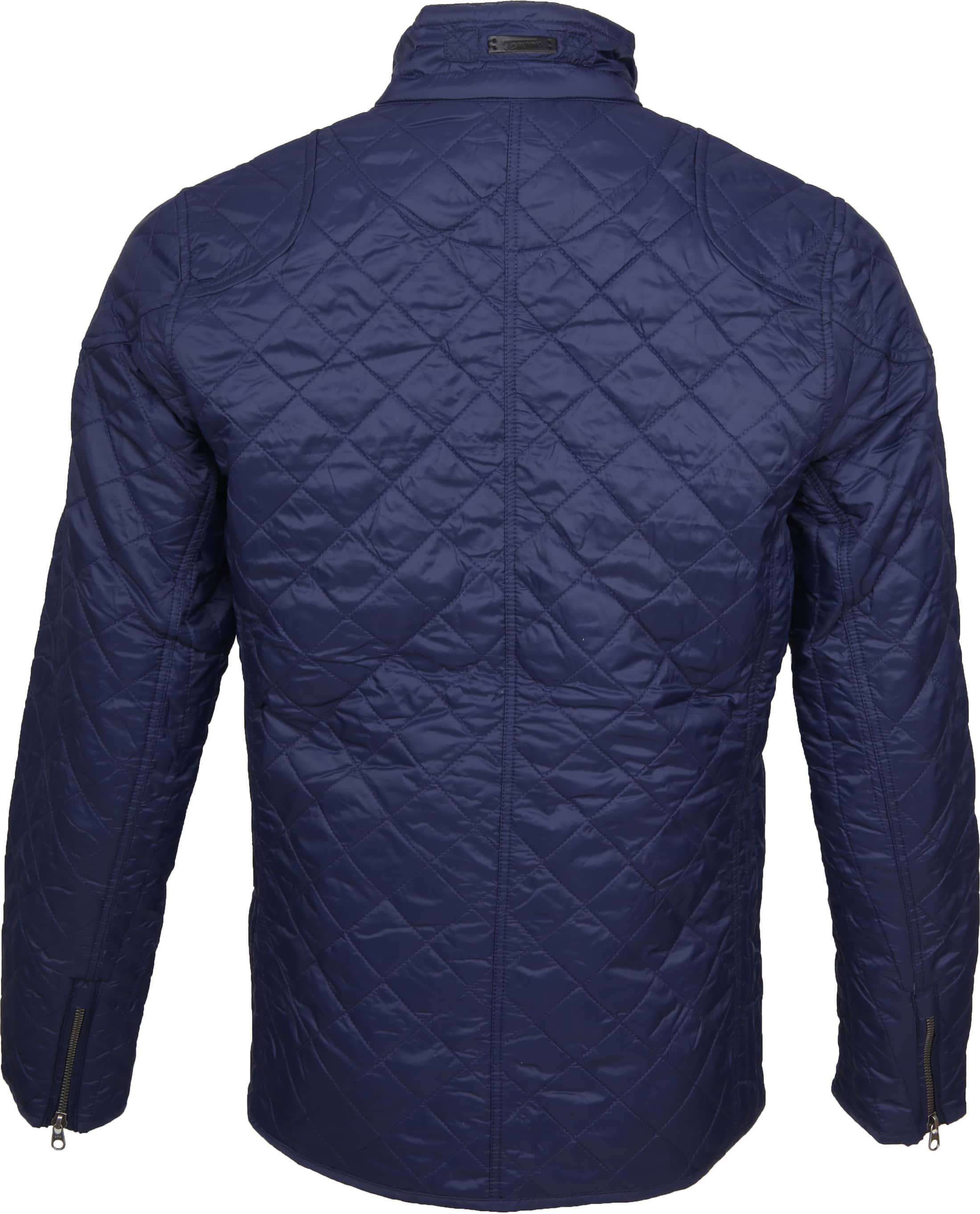 Tenson Samson Jacket Quilted Navy foto 5