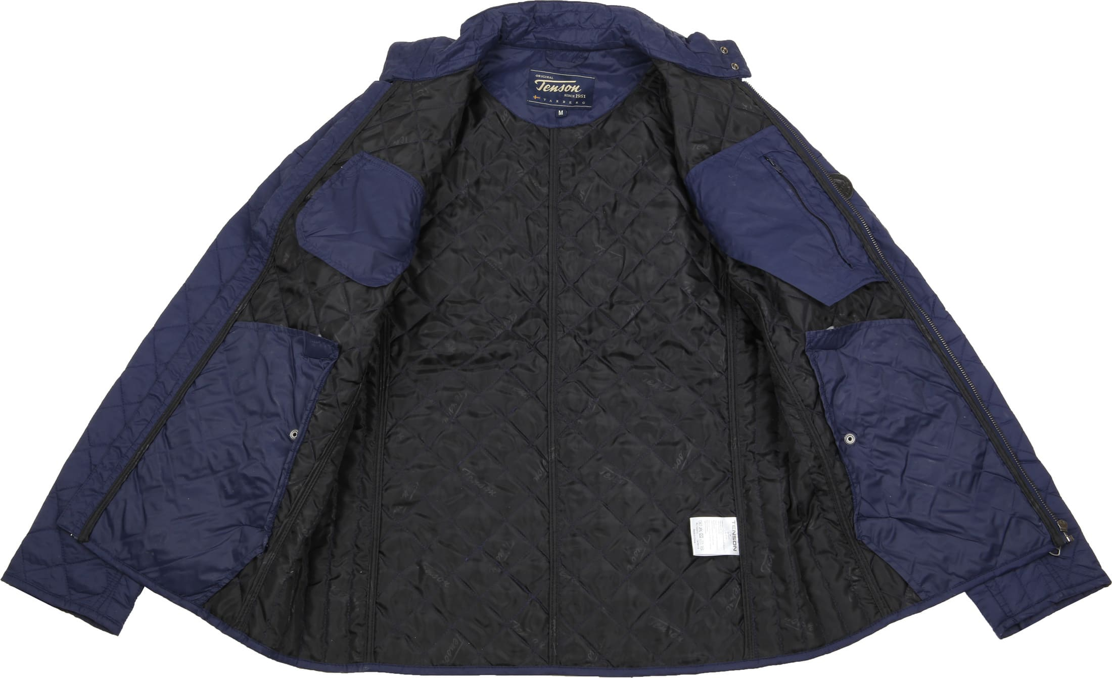 Tenson Samson Jacket Quilted Navy foto 6